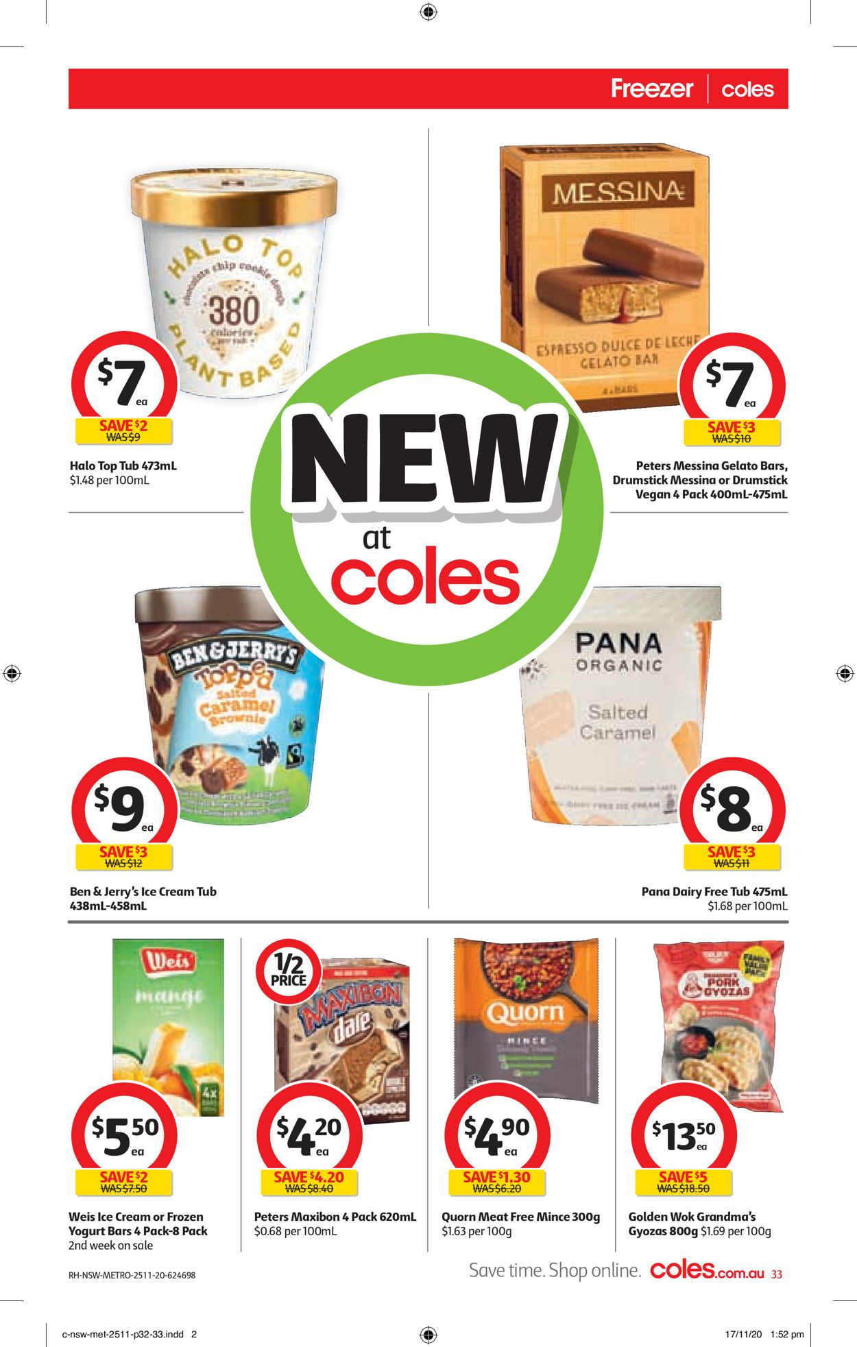 Coles Black Friday 2020 Catalogue - 25/11-01/12/2020 (Page 33)