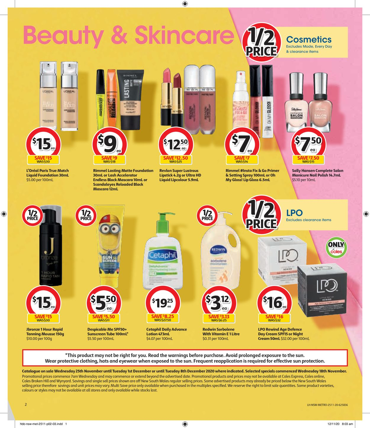 Coles Black Friday 2020 Catalogue - 25/11-01/12/2020 (Page 2)
