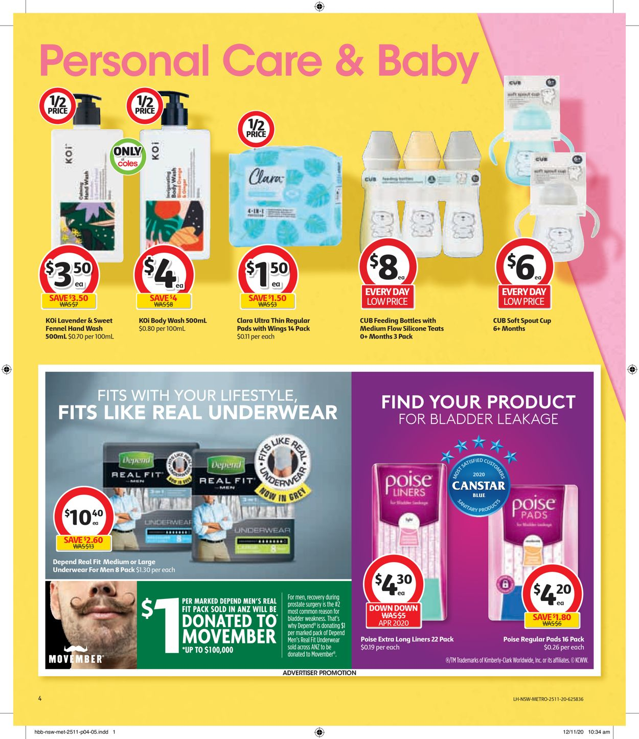 Coles Black Friday 2020 Catalogue - 25/11-01/12/2020 (Page 4)