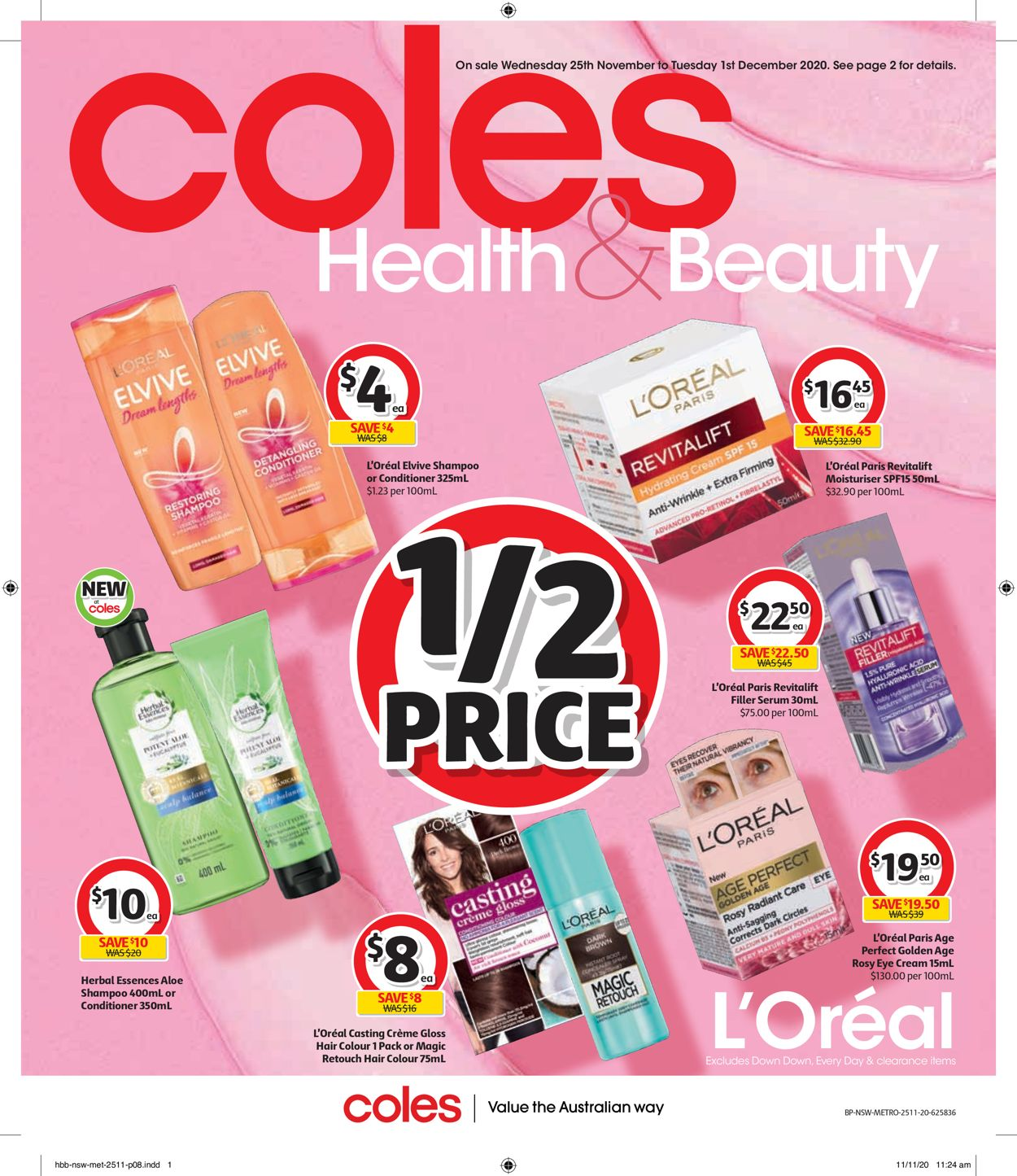 Coles Black Friday 2020 Catalogue - 25/11-01/12/2020 (Page 8)