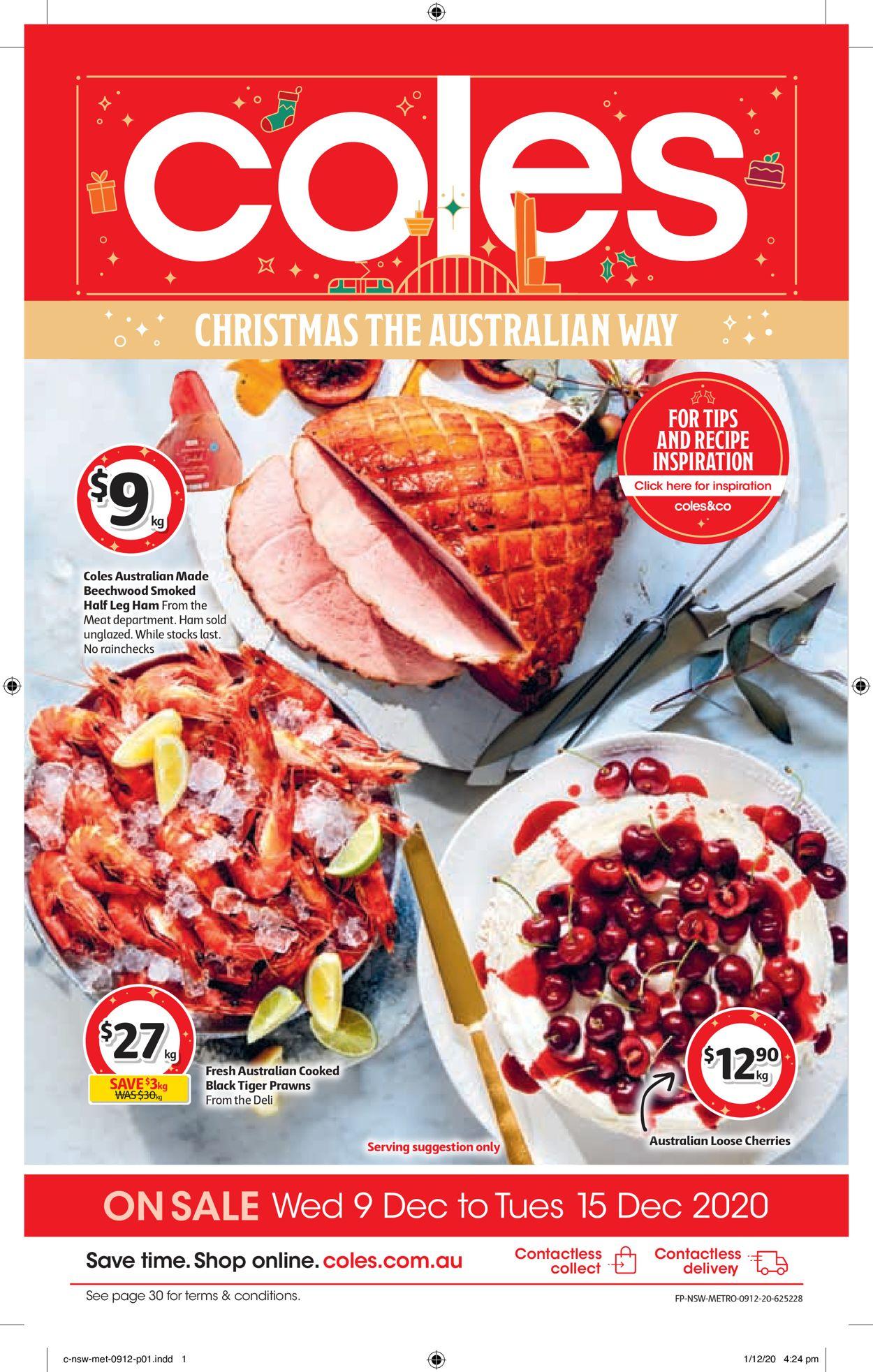 Coles - Christmas 2020 Catalogue - 09/12-15/12/2020