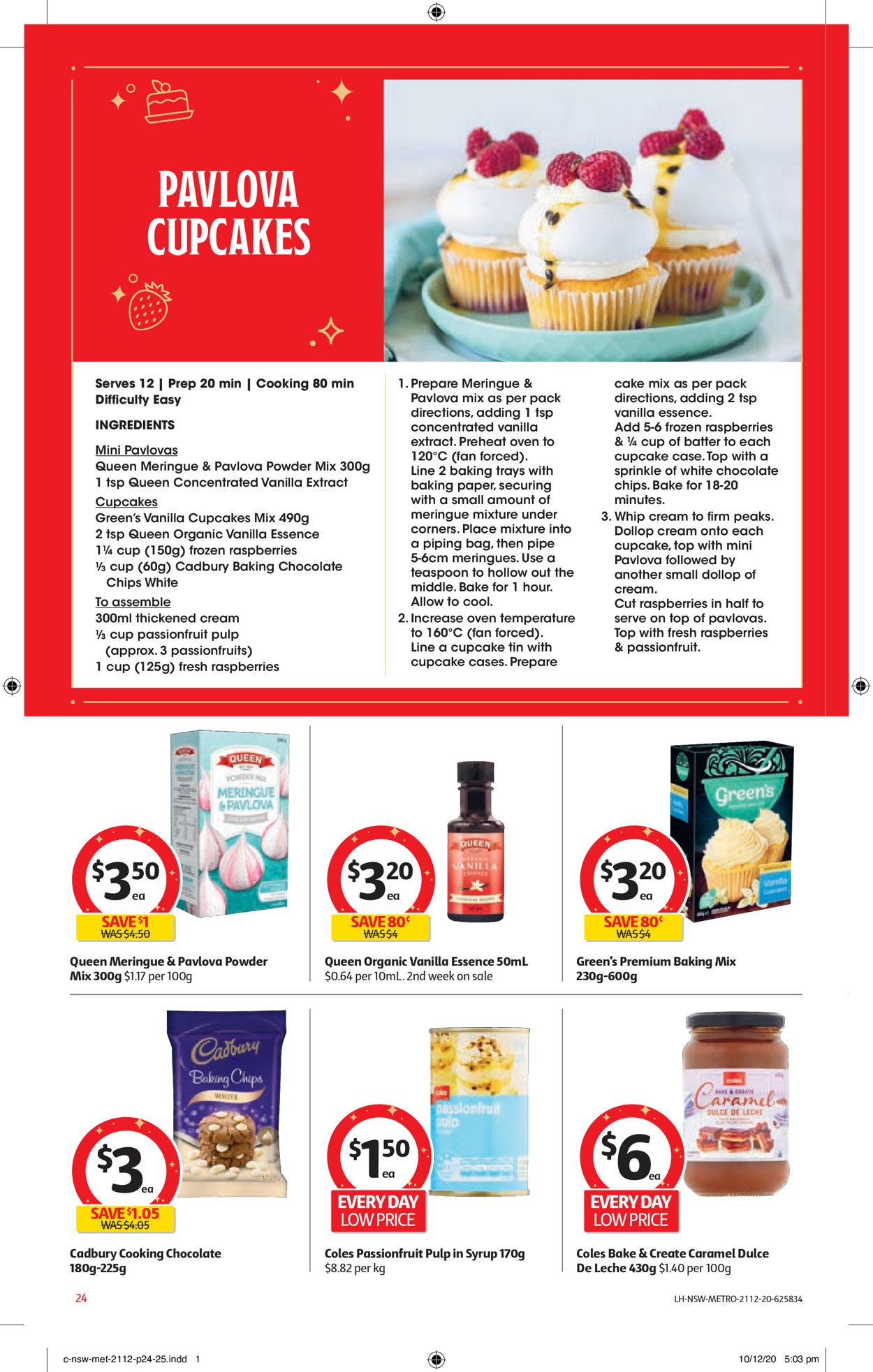 Coles - Christmas 2020 Catalogue - 21/12-24/12/2020 (Page 24)