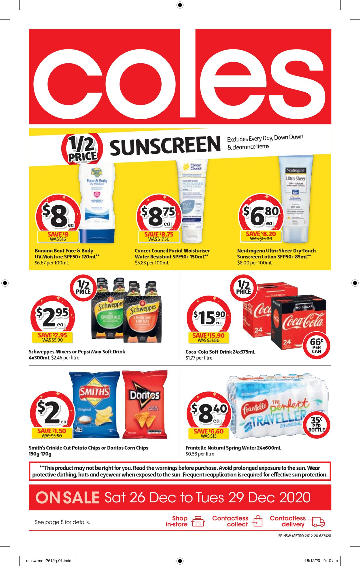 Coles - Boxing Day 2020 Catalogue - 26/12-29/12/2020