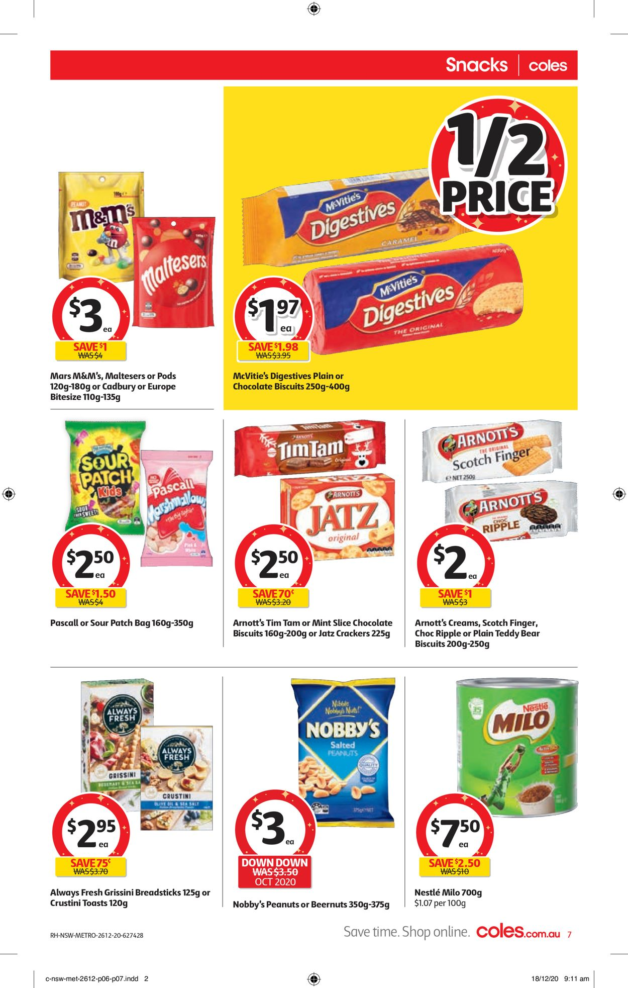 Coles - Boxing Day 2020 Catalogue - 26/12-29/12/2020 (Page 7)