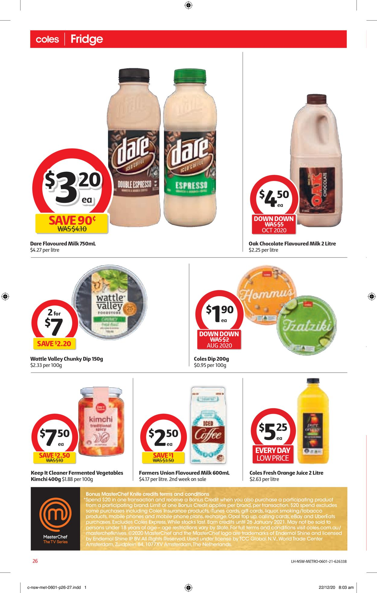 Coles Catalogue - 06/01-12/01/2021 (Page 26)