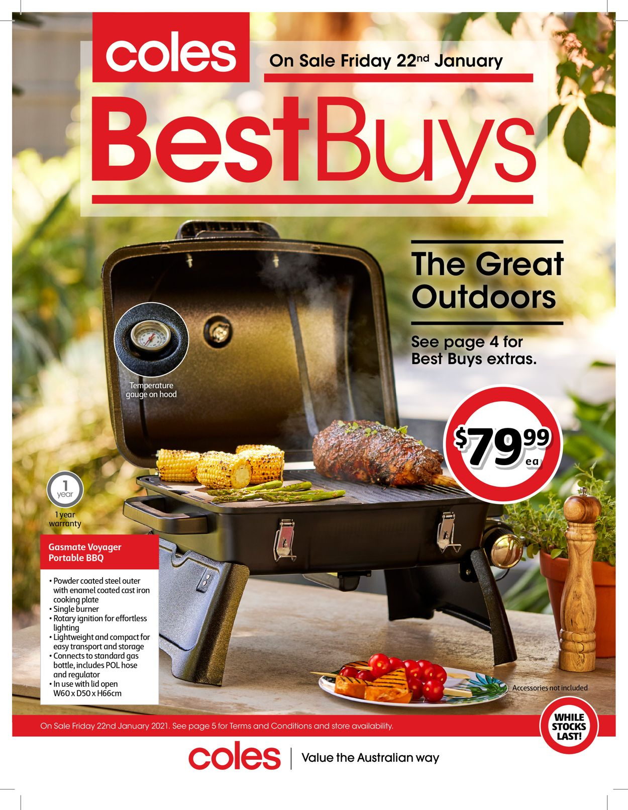 Coles Catalogue - 22/01-04/02/2021