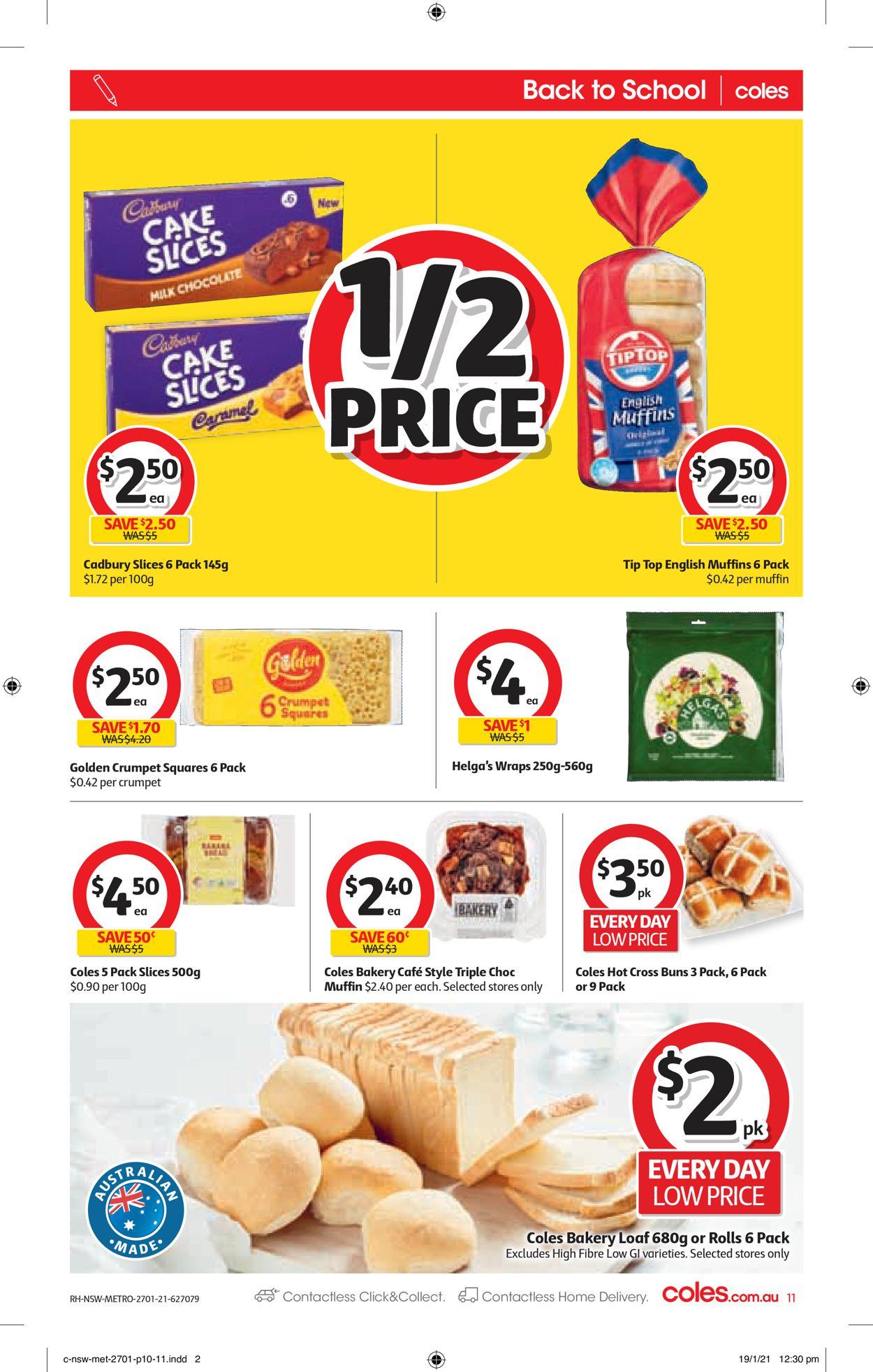 Coles Catalogue - 27/01-02/02/2021 (Page 11)