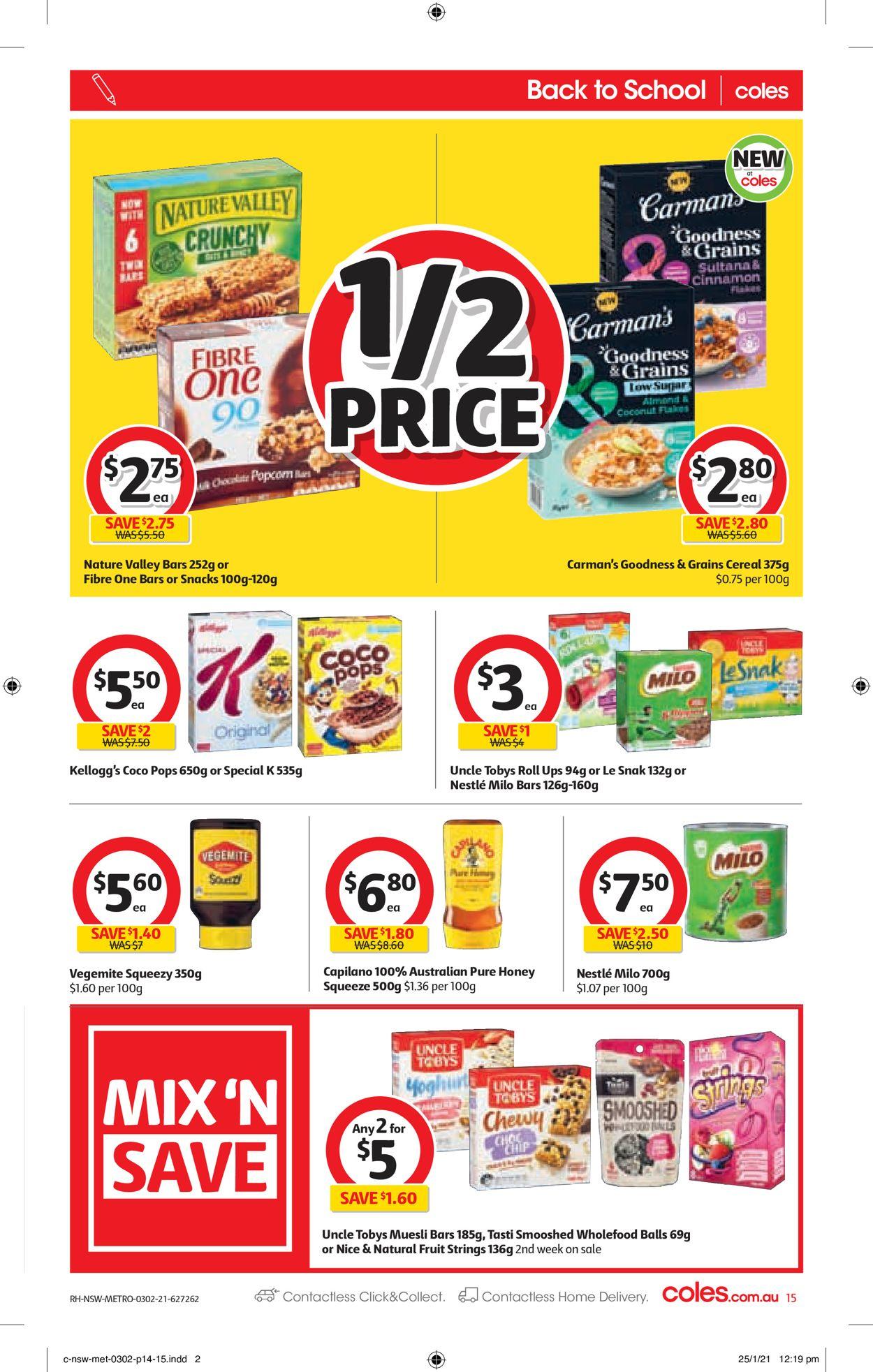 Coles Catalogue - 03/02-09/02/2021 (Page 15)