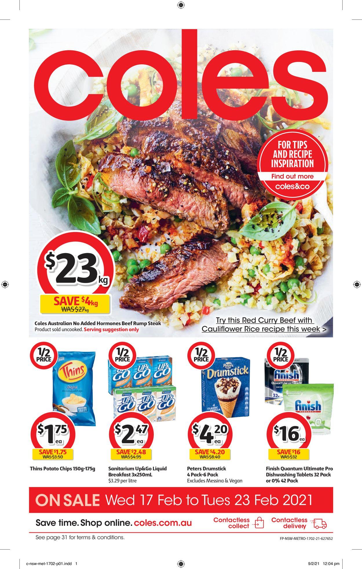 Coles Catalogue - 17/02-23/02/2021