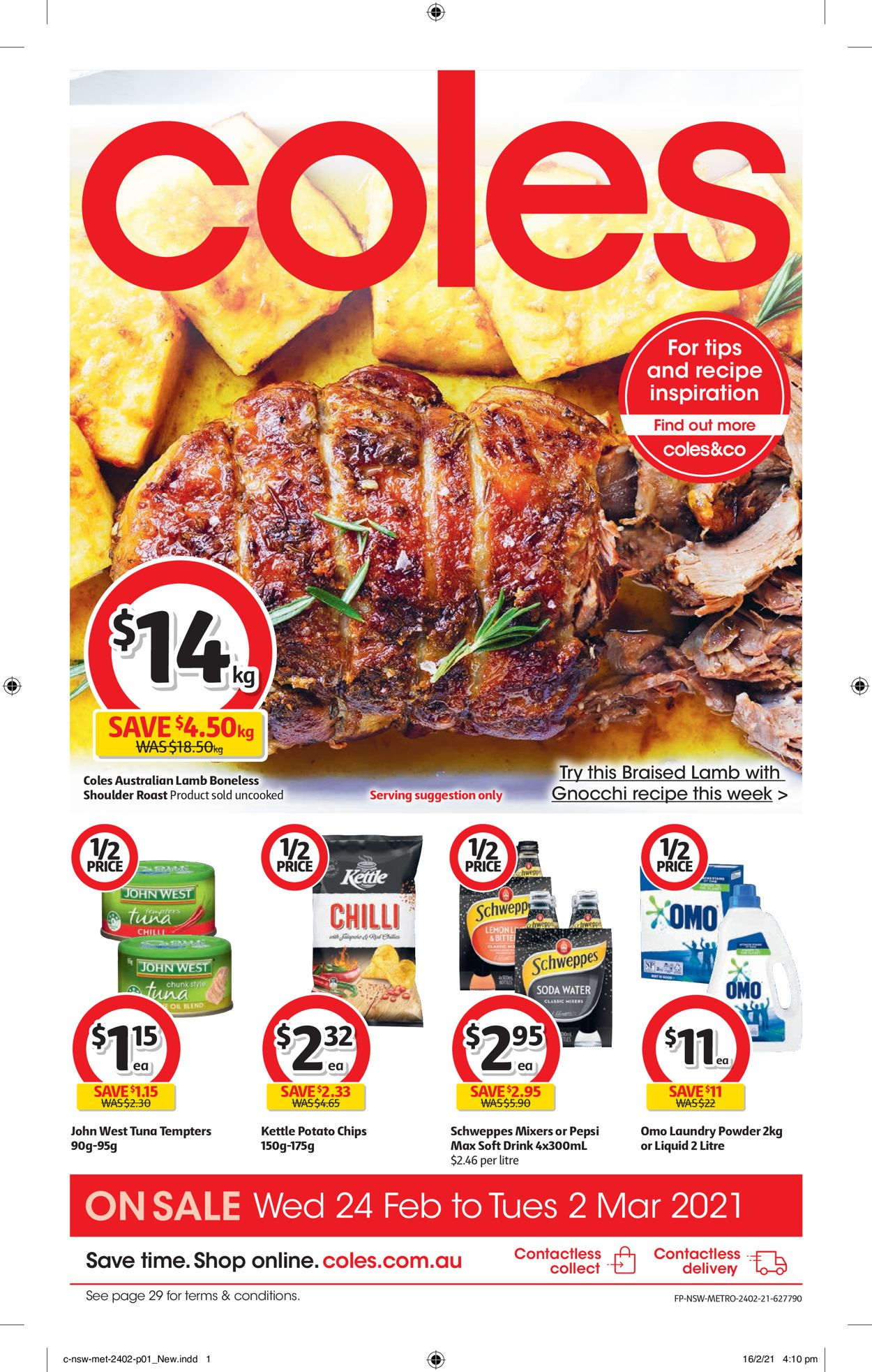 Coles Catalogue - 24/02-02/03/2021