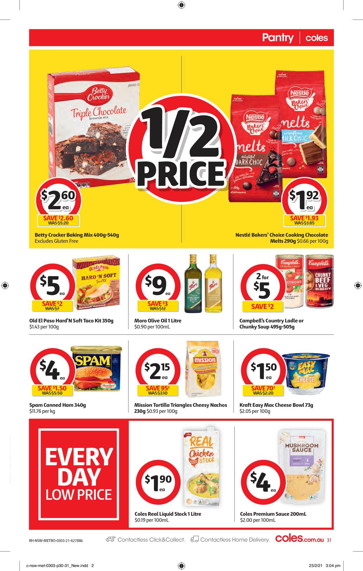 Coles Catalogue - 03/03-09/03/2021 (Page 31)