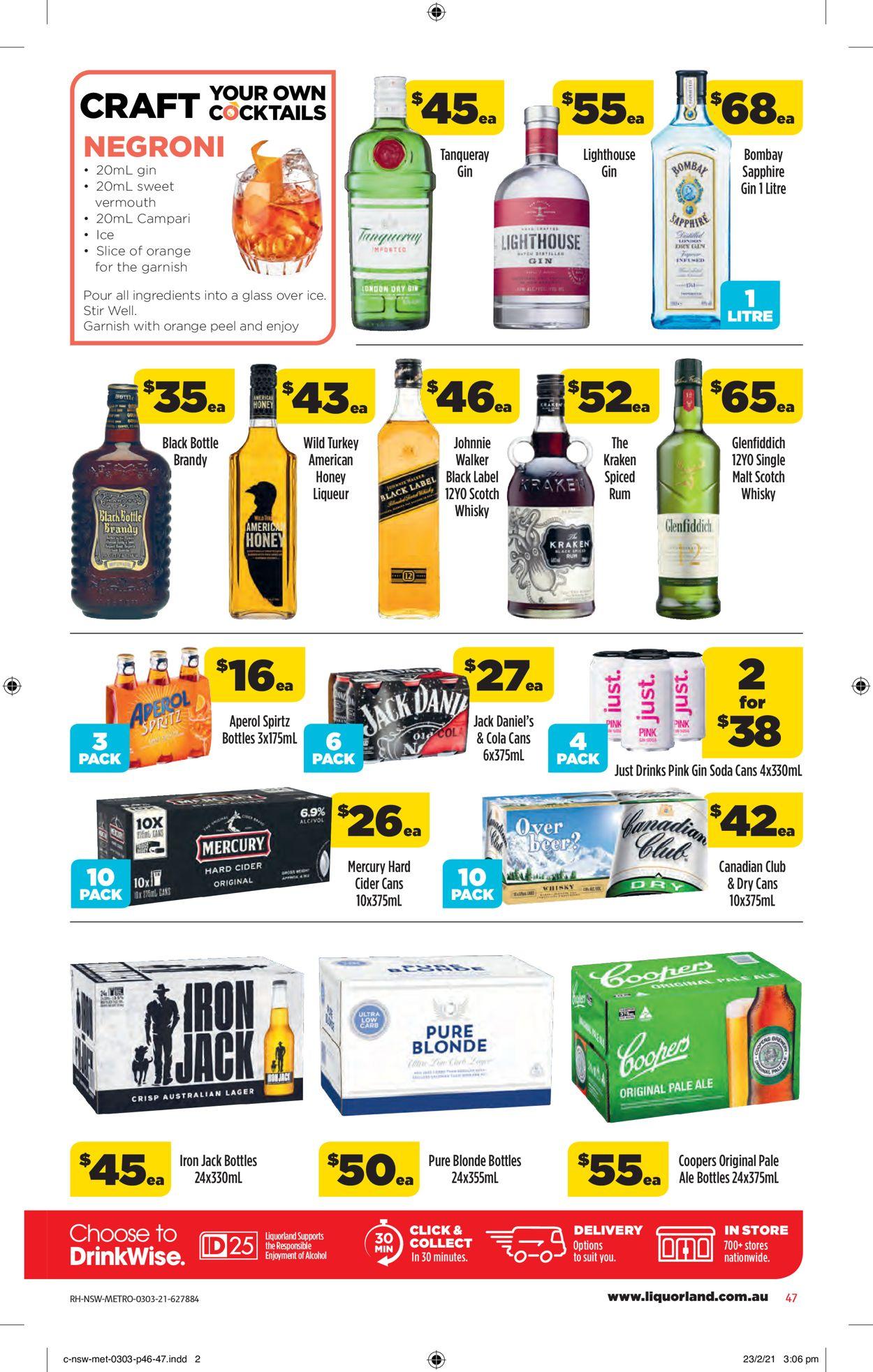 Coles Catalogue - 03/03-09/03/2021 (Page 47)