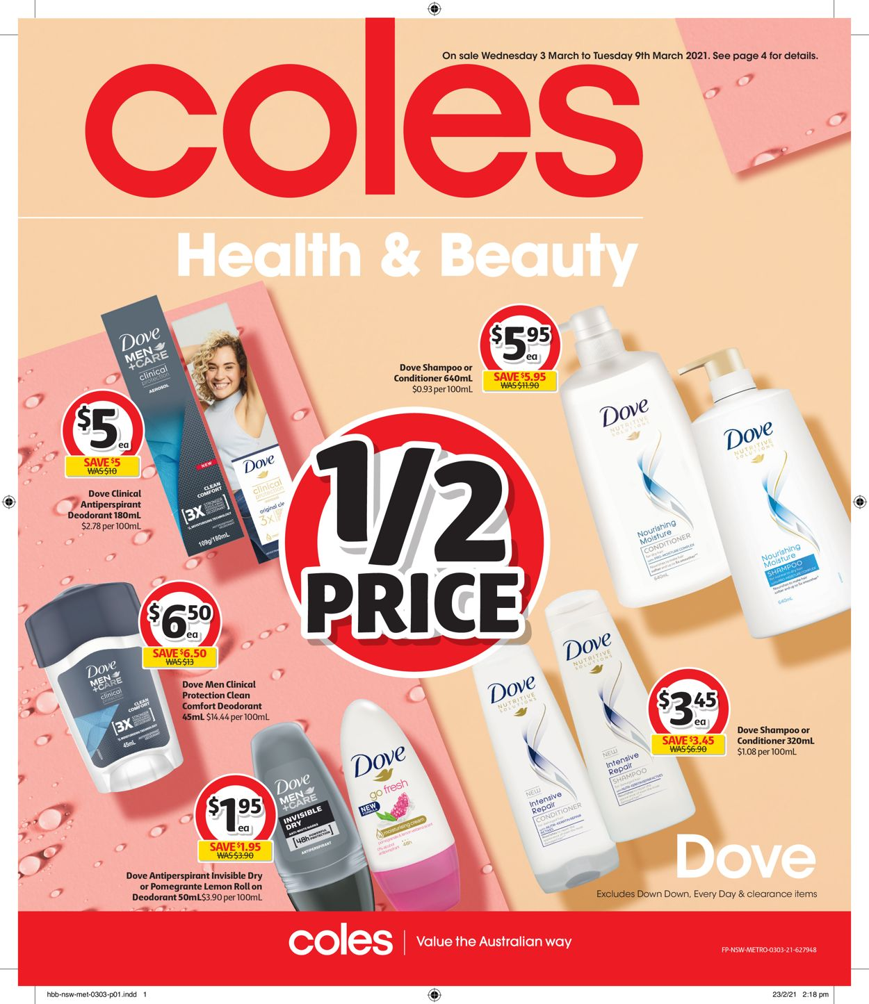 Coles Catalogue - 03/03-09/03/2021