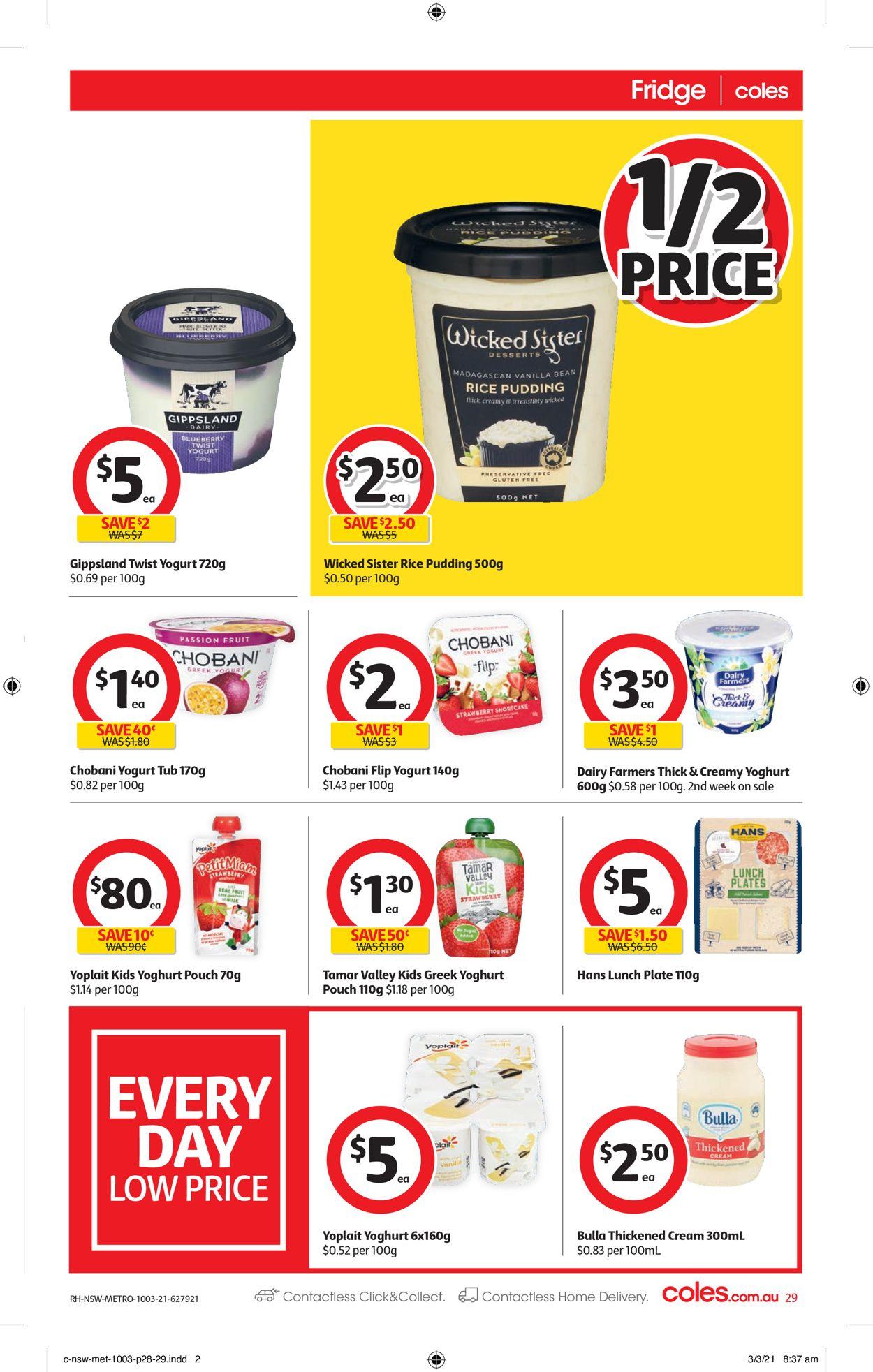 Coles Catalogue - 10/03-16/03/2021 (Page 29)