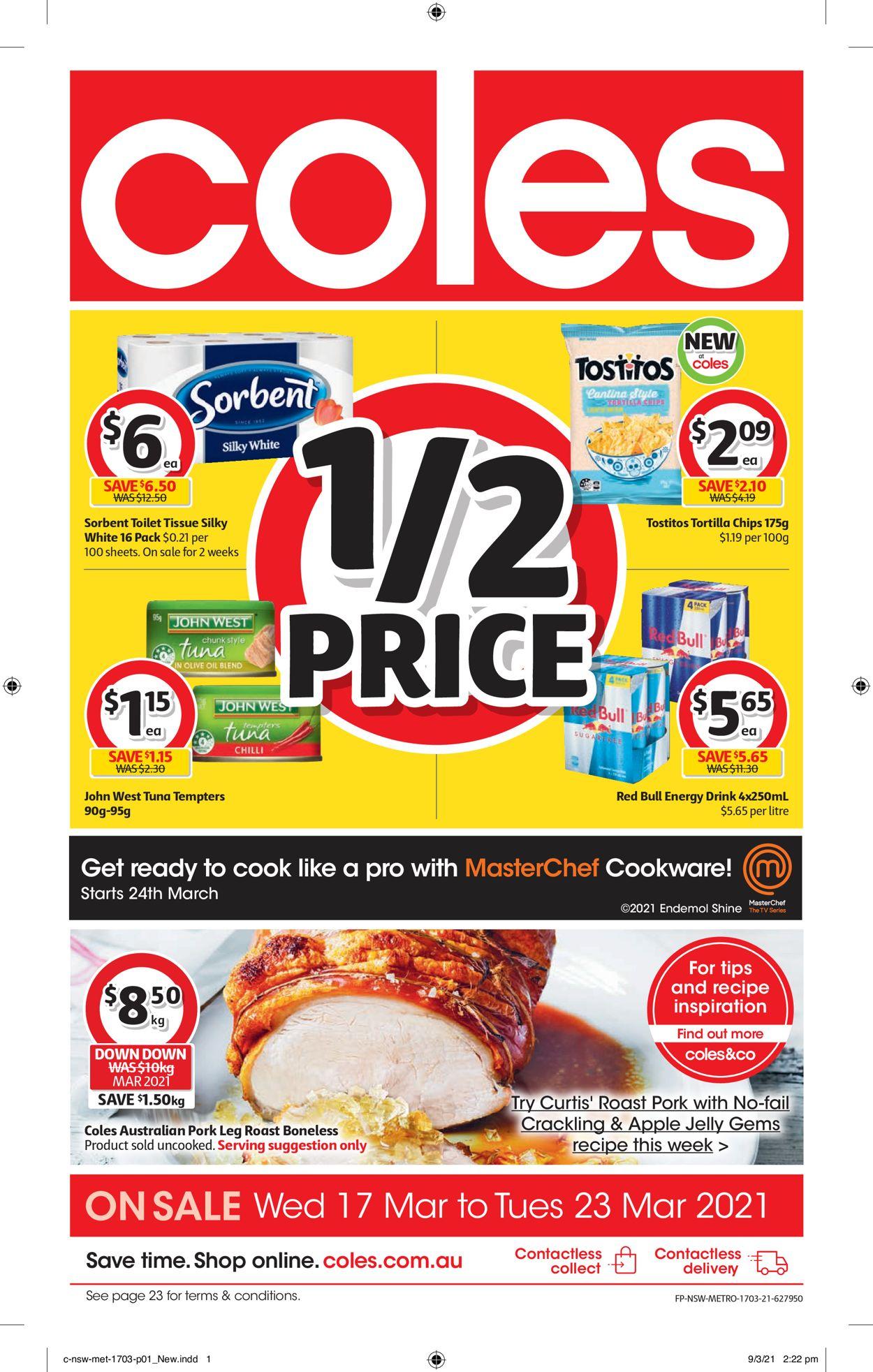 Coles Catalogue - 17/03-23/03/2021