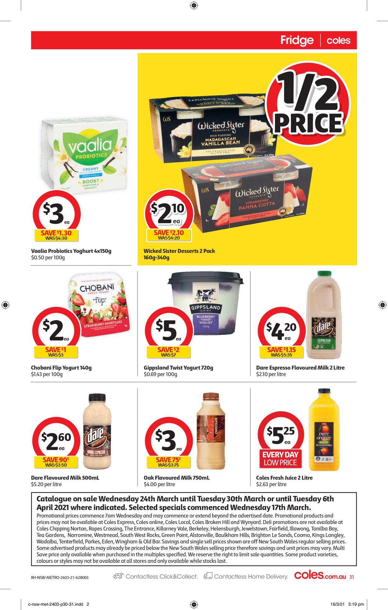 Coles Catalogue - 24/03-30/03/2021 (Page 31)