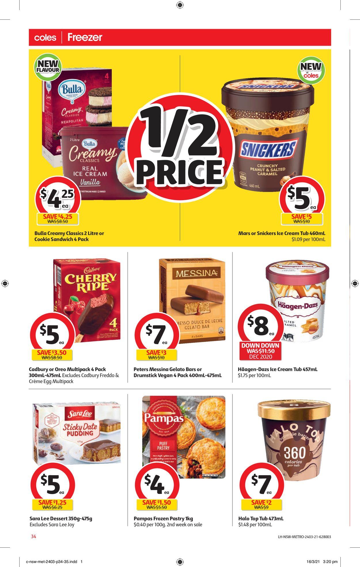 Coles Catalogue - 24/03-30/03/2021 (Page 34)