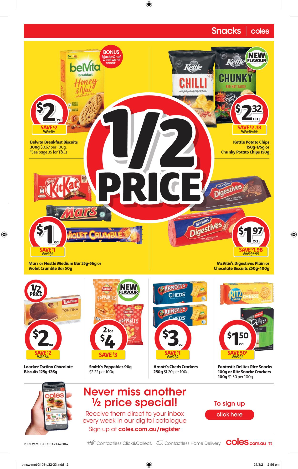 Coles Catalogue - 31/03-06/04/2021 (Page 33)