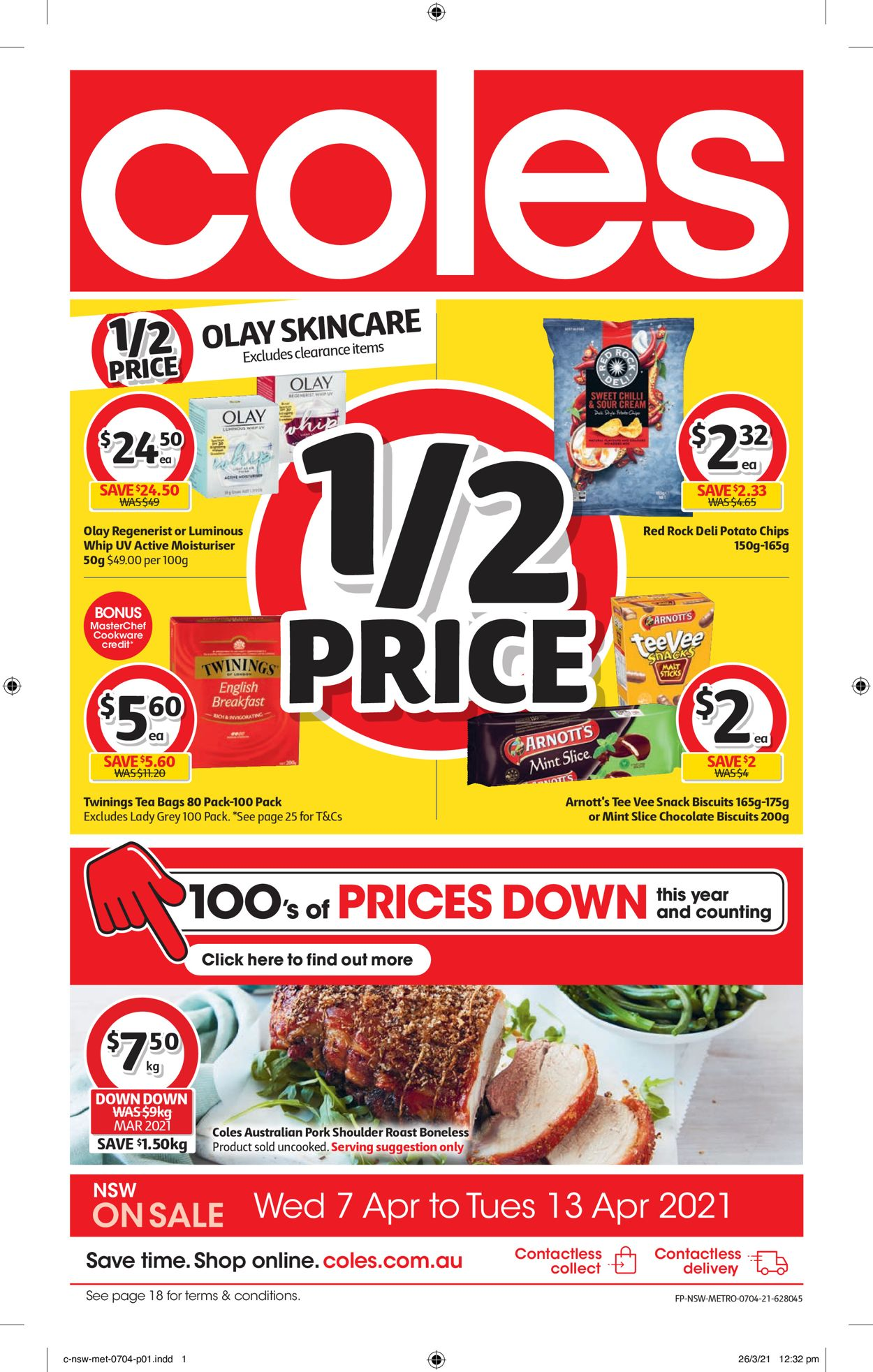 Coles Catalogue - 07/04-13/04/2021