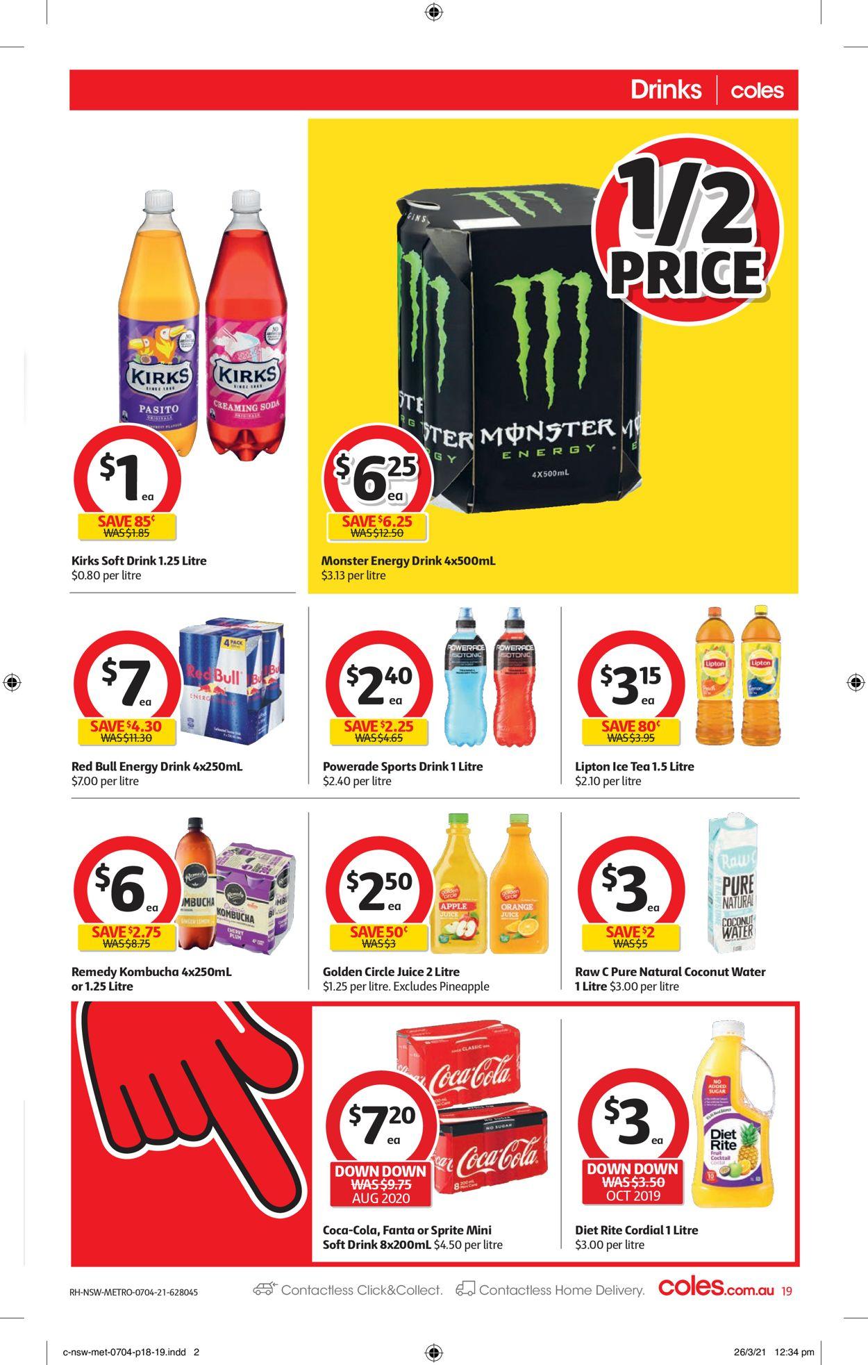 Coles Catalogue - 07/04-13/04/2021 (Page 19)