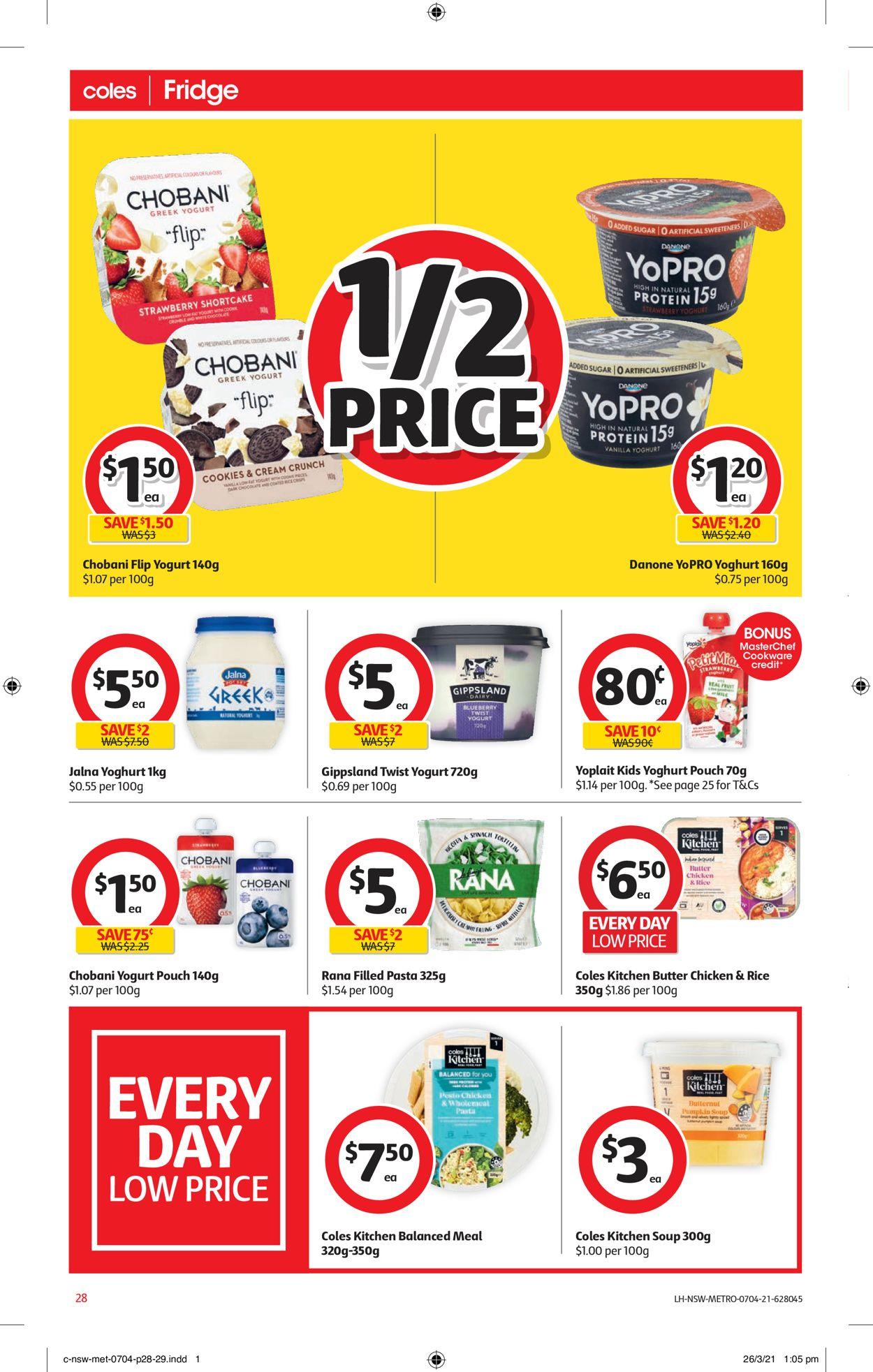 Coles Catalogue - 07/04-13/04/2021 (Page 28)