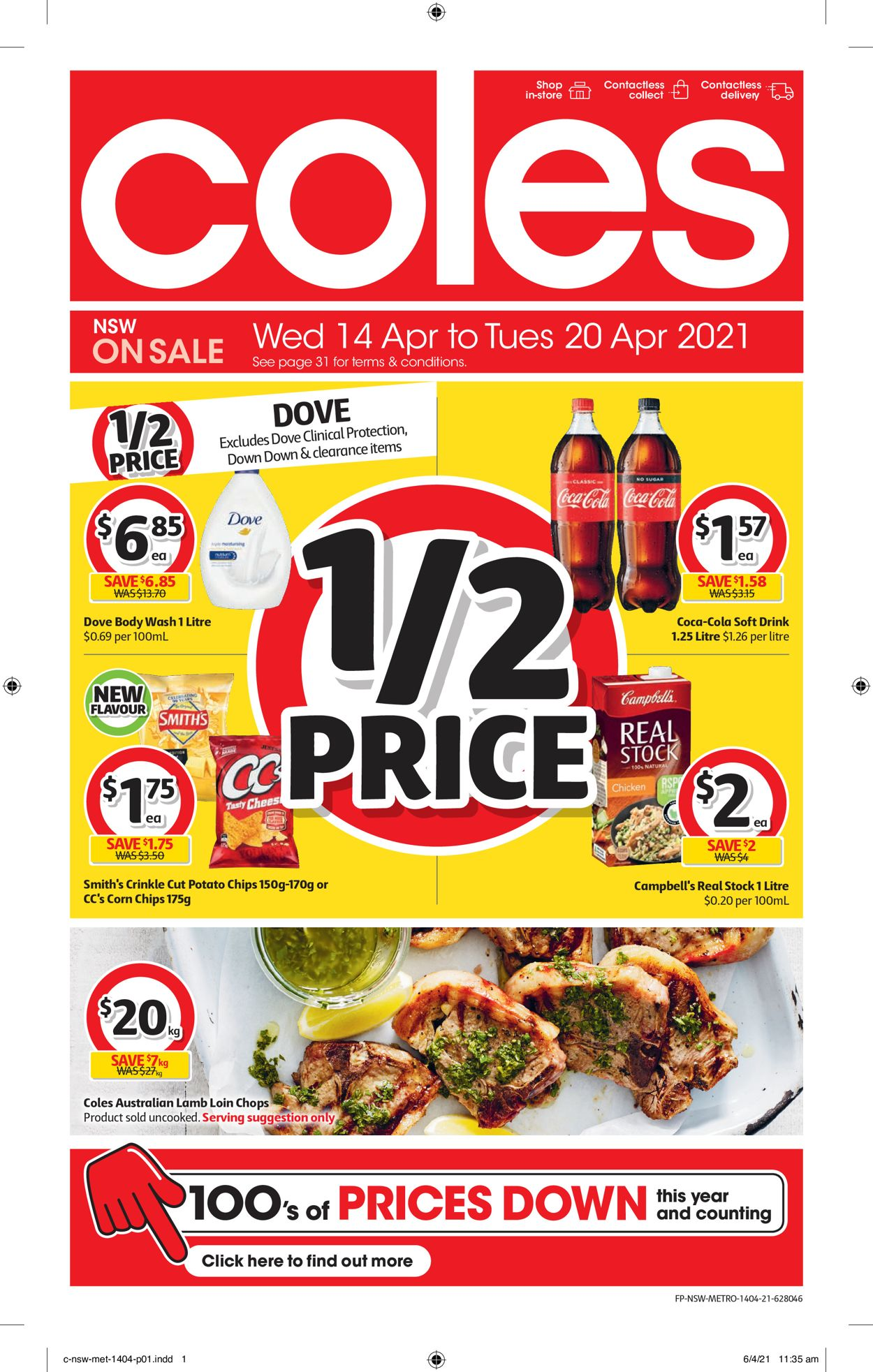 Coles Catalogue - 14/04-20/04/2021