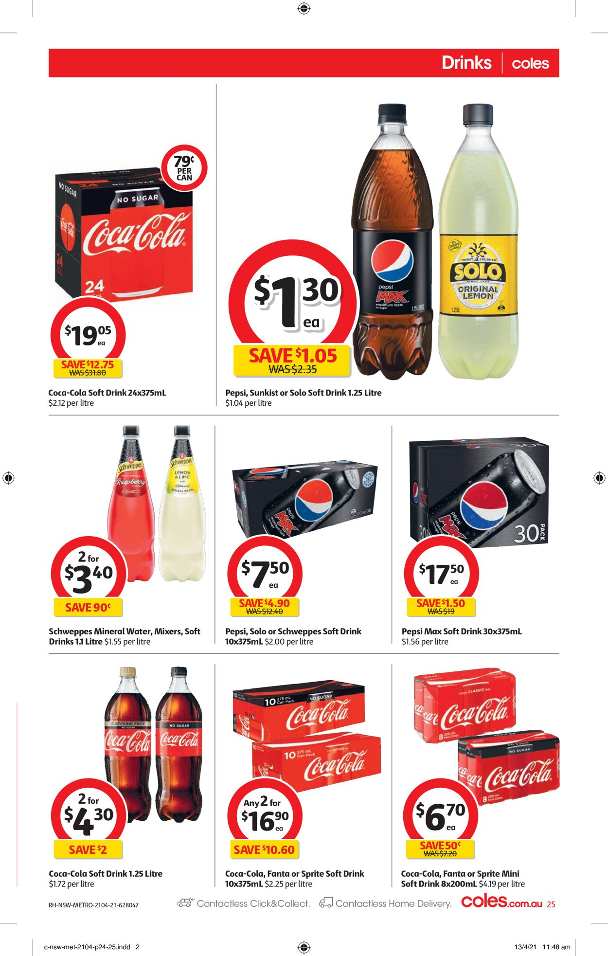 Coles Catalogue - 21/04-27/04/2021 (Page 25)