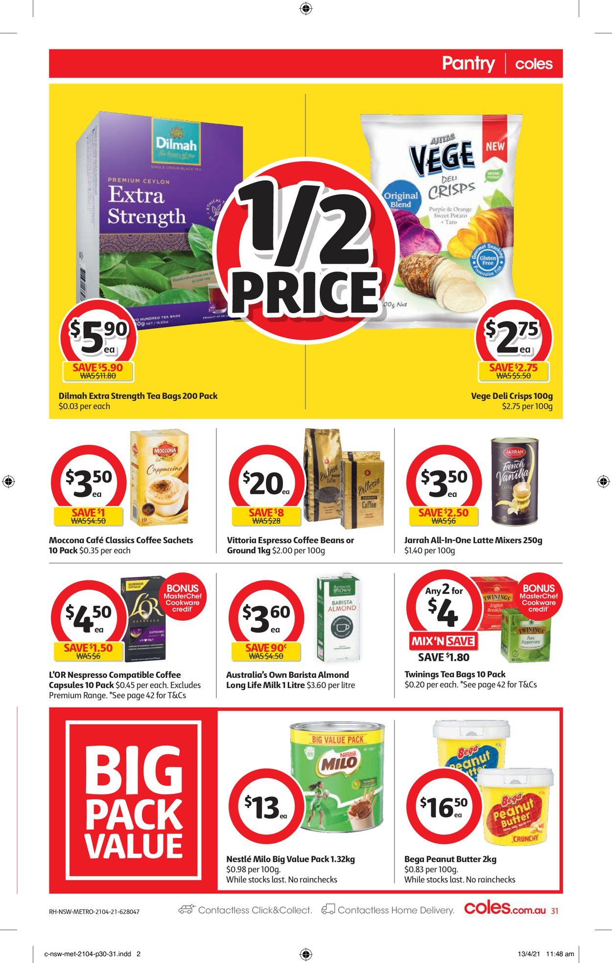 Coles Catalogue - 21/04-27/04/2021 (Page 31)