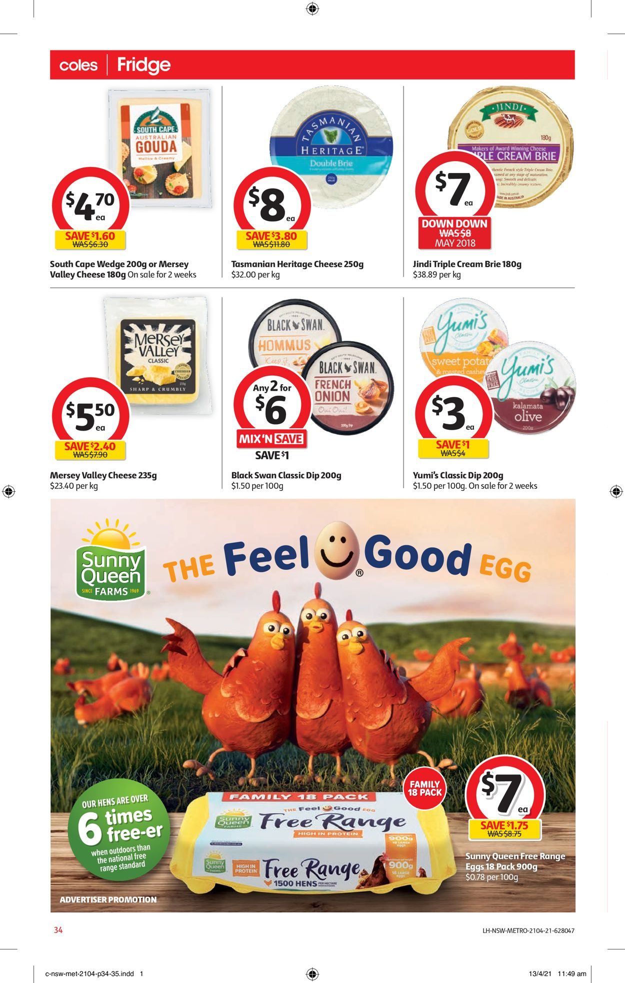 Coles Catalogue - 21/04-27/04/2021 (Page 34)