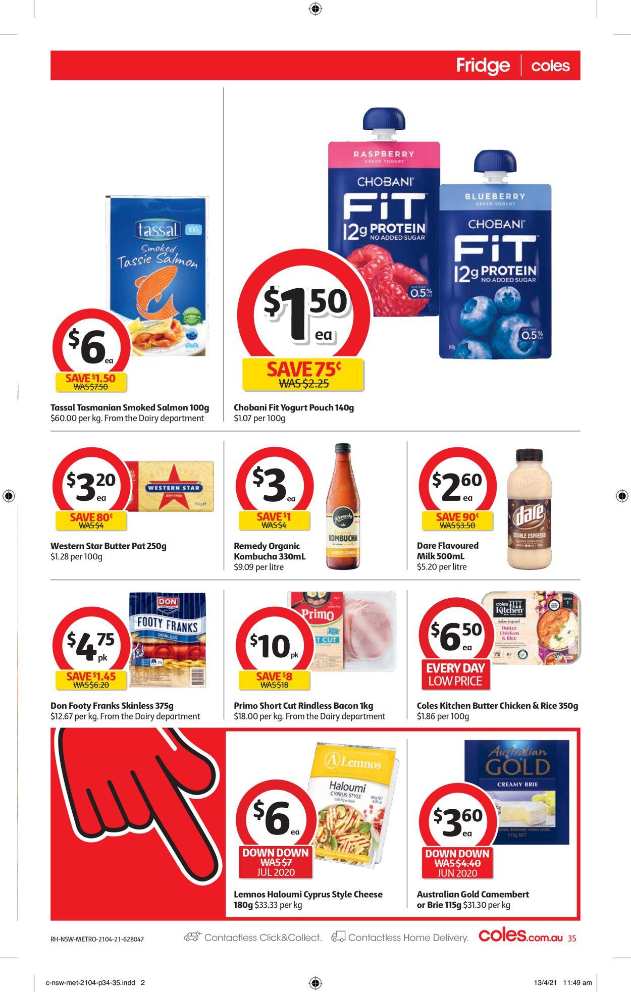 Coles Catalogue - 21/04-27/04/2021 (Page 35)