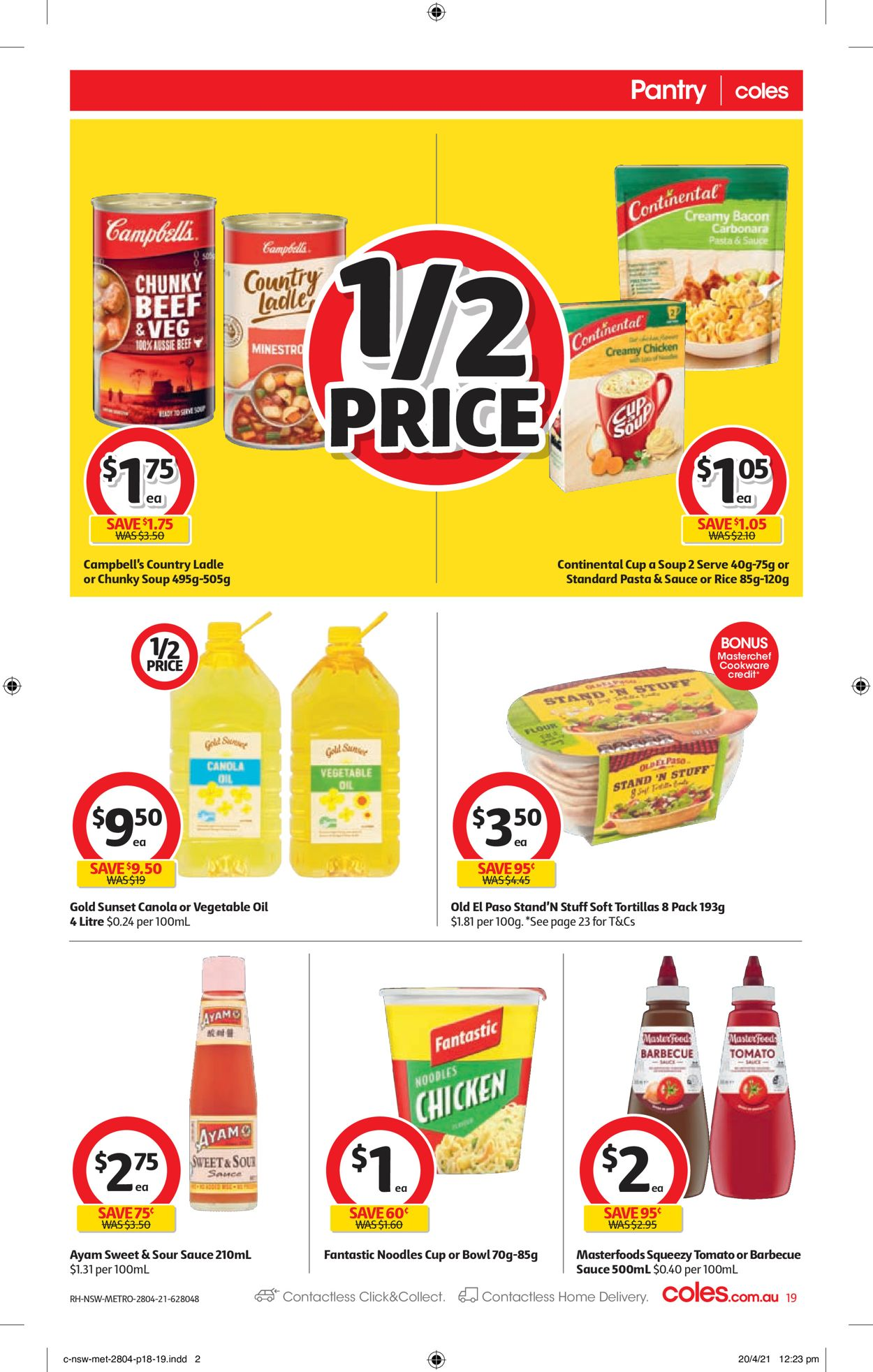 Coles Catalogue - 28/04-04/05/2021 (Page 19)