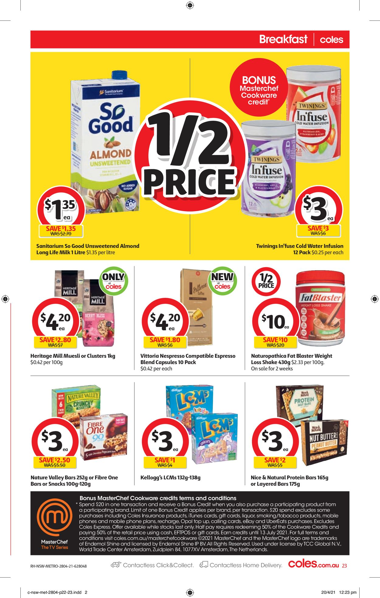 Coles Catalogue - 28/04-04/05/2021 (Page 23)