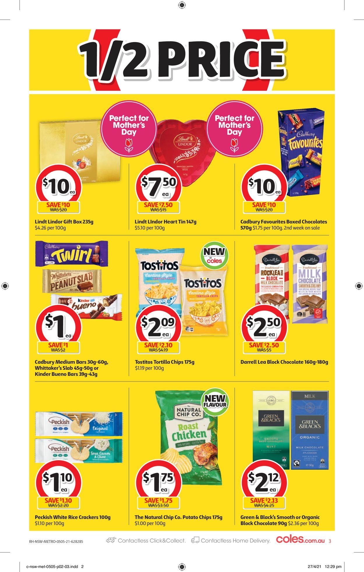 Coles Catalogue - 05/05-11/05/2021 (Page 3)