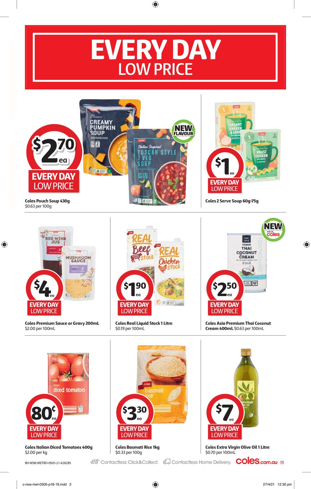 Coles Catalogue - 05/05-11/05/2021 (Page 19)