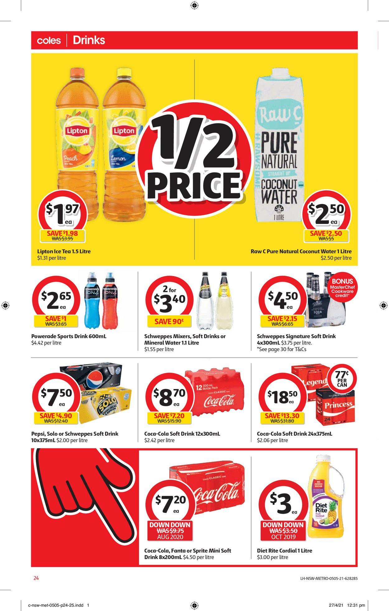 Coles Catalogue - 05/05-11/05/2021 (Page 24)