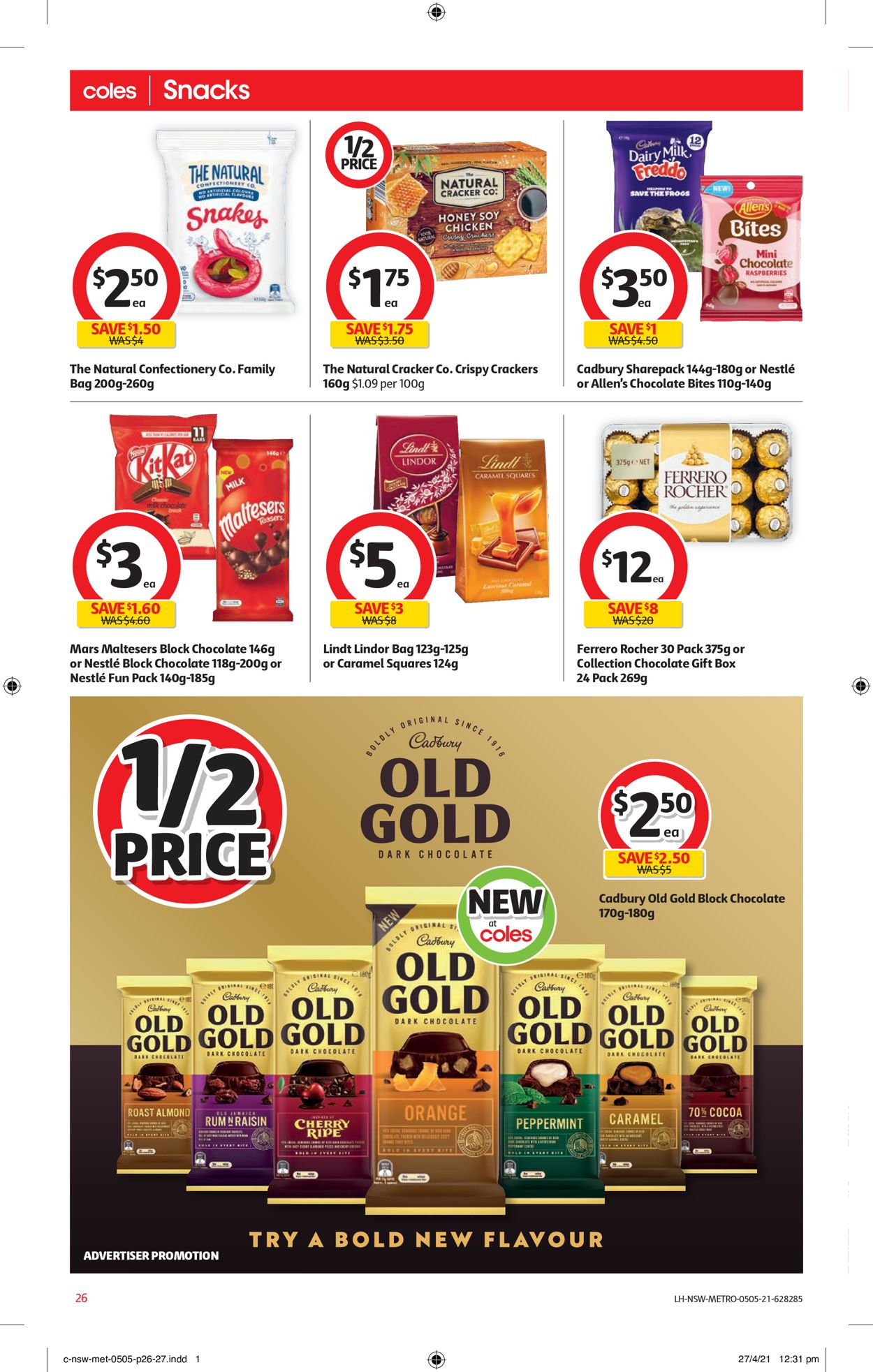 Coles Catalogue - 05/05-11/05/2021 (Page 26)