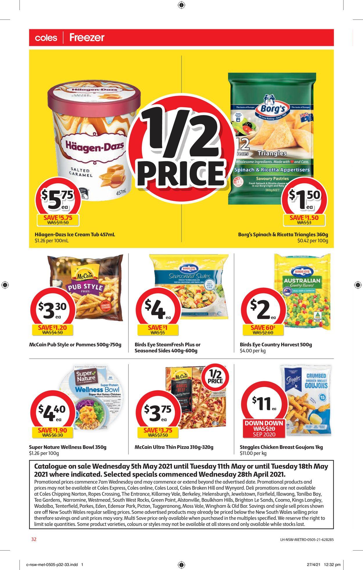 Coles Catalogue - 05/05-11/05/2021 (Page 32)