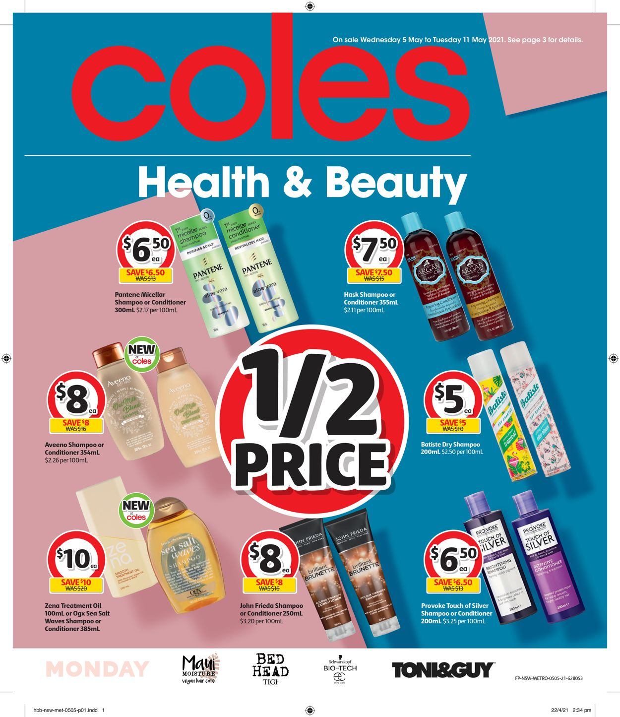 Coles Catalogue - 05/05-11/05/2021