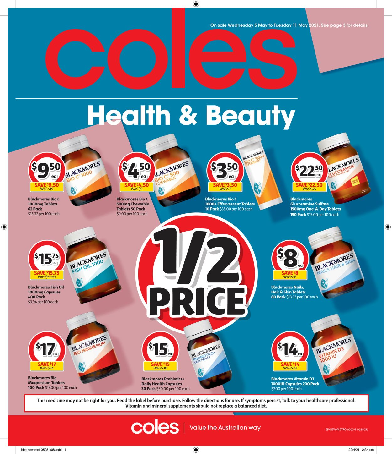 Coles Catalogue - 05/05-11/05/2021 (Page 8)