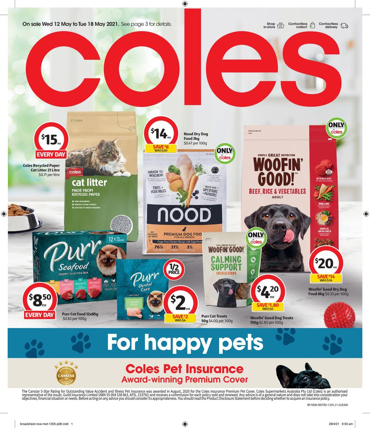 Coles Catalogue - 12/05-18/05/2021 (Page 8)