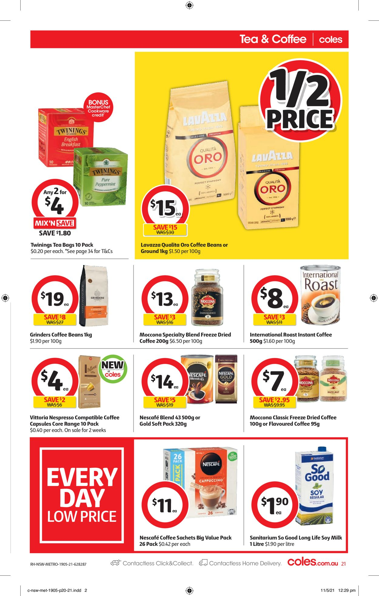 Coles Catalogue - 19/05-25/05/2021 (Page 21)