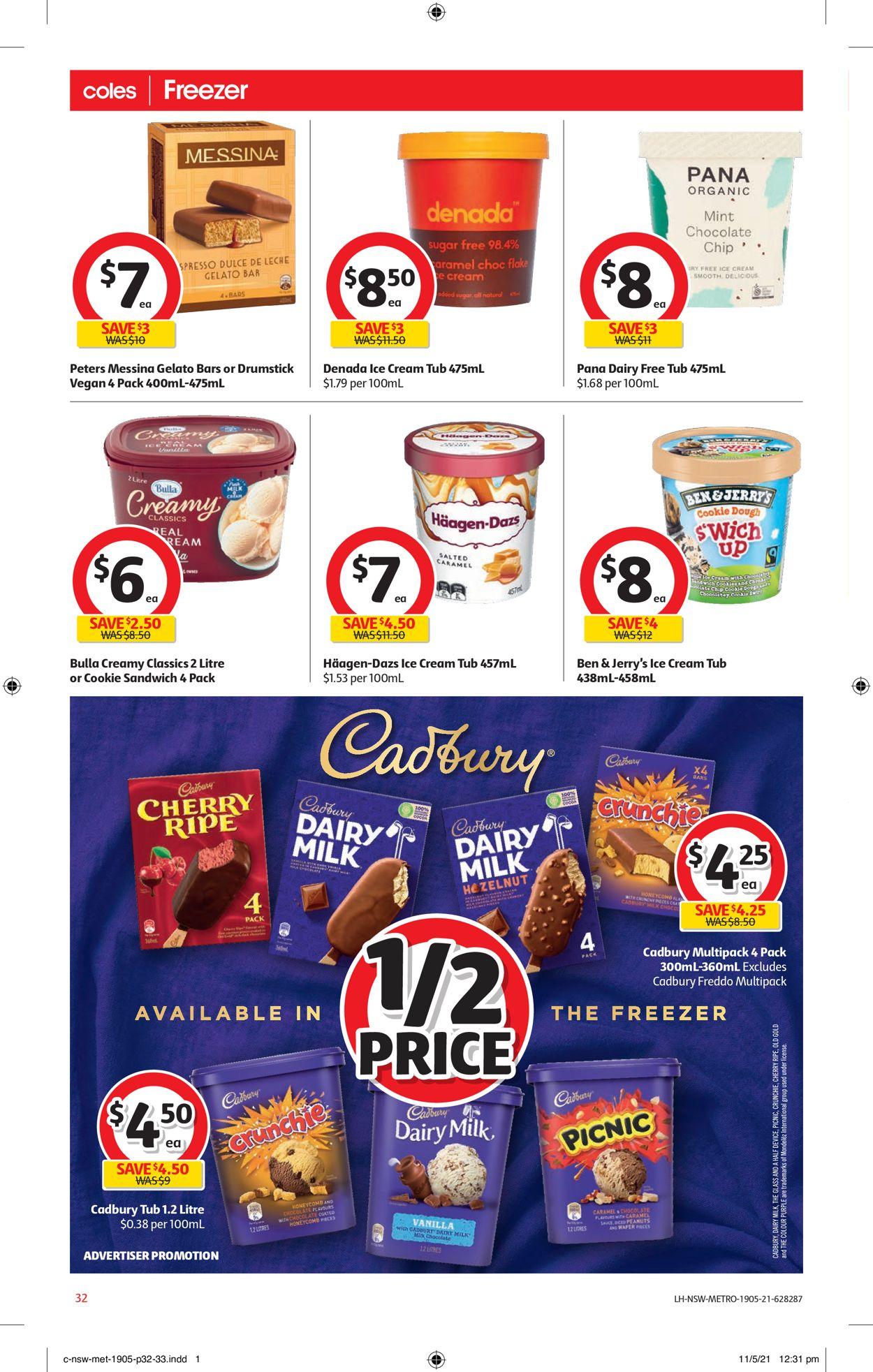 Coles Catalogue - 19/05-25/05/2021 (Page 32)
