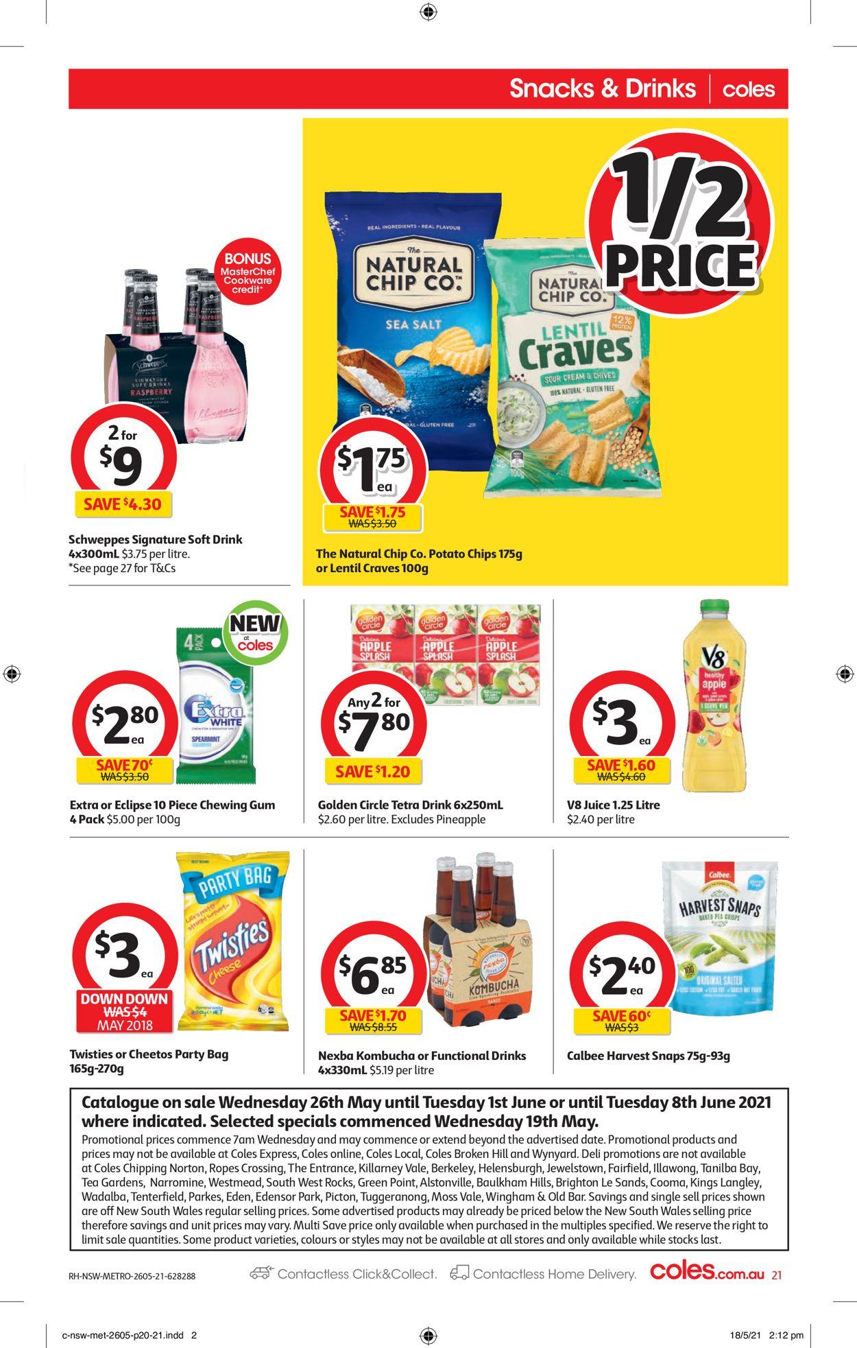 Coles Catalogue - 26/05-01/06/2021 (Page 21)