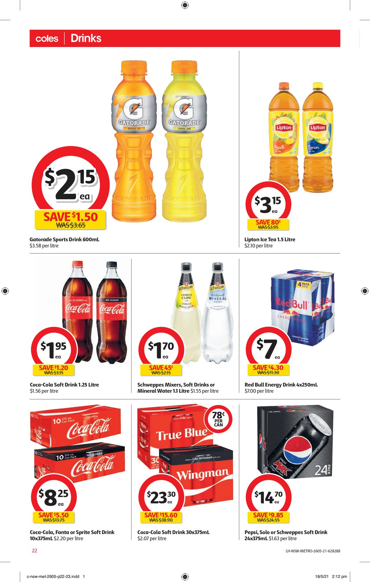 Coles Catalogue - 26/05-01/06/2021 (Page 22)