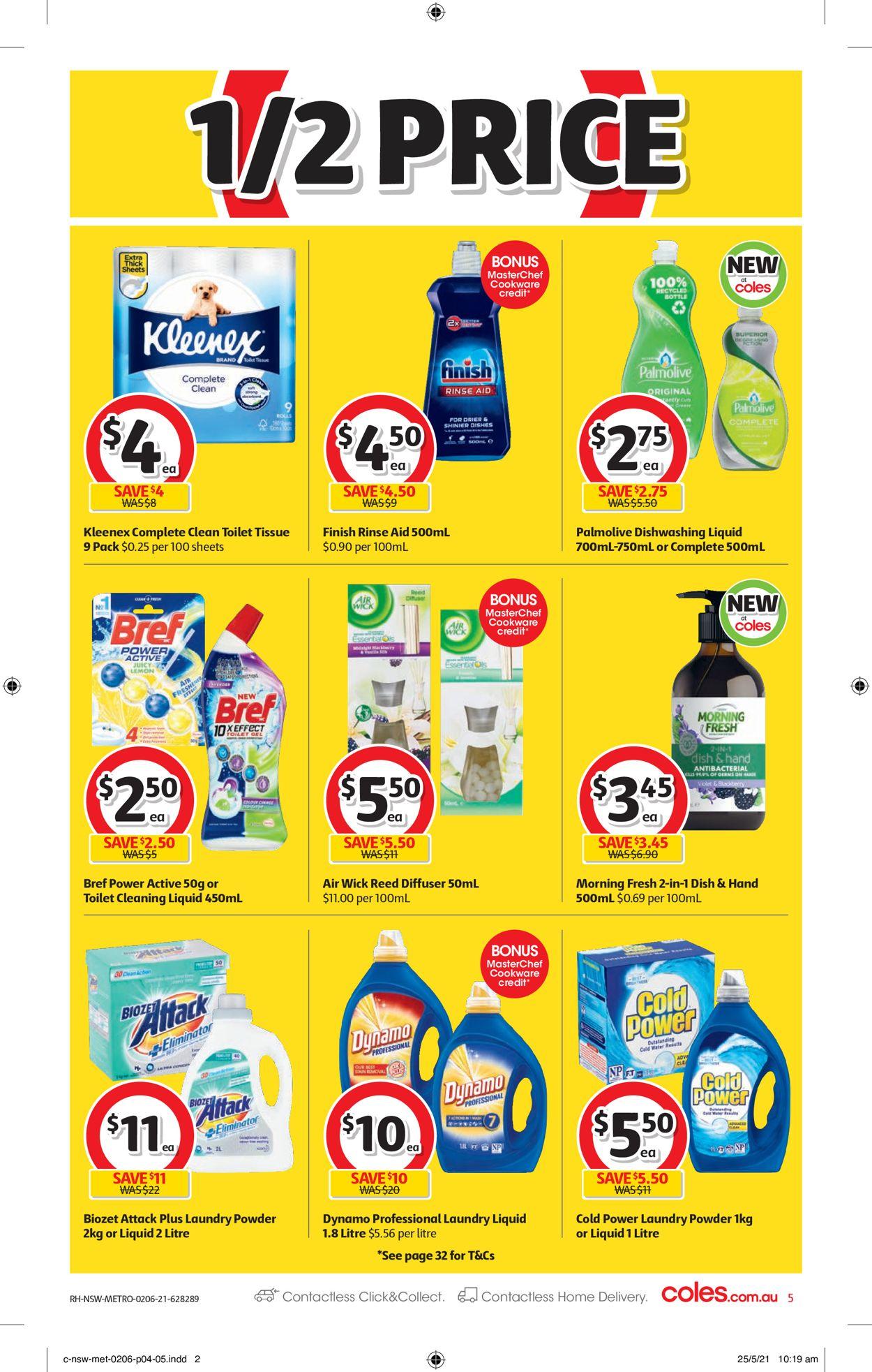 Coles Catalogue - 02/06-08/06/2021 (Page 5)