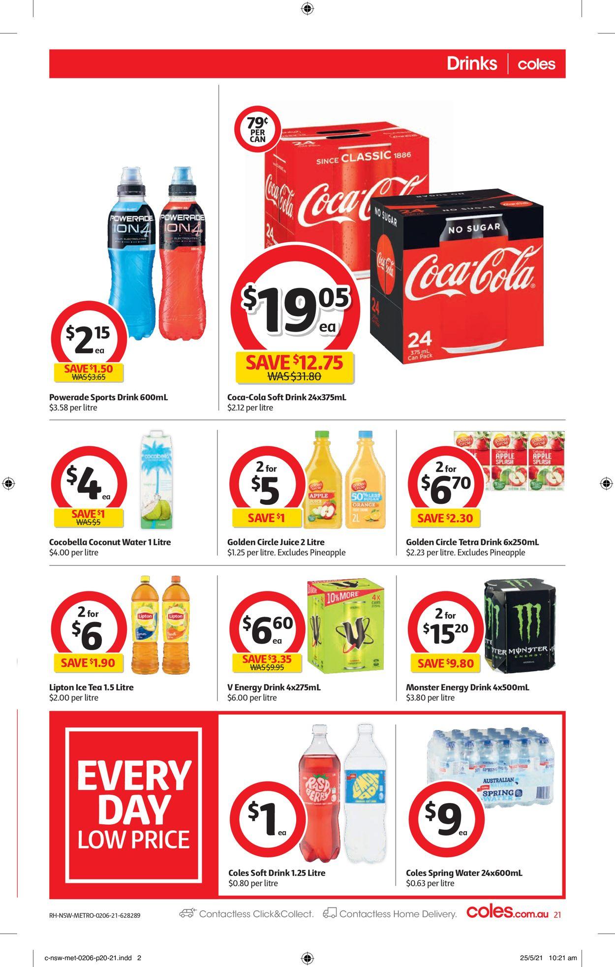 Coles Catalogue - 02/06-08/06/2021 (Page 21)