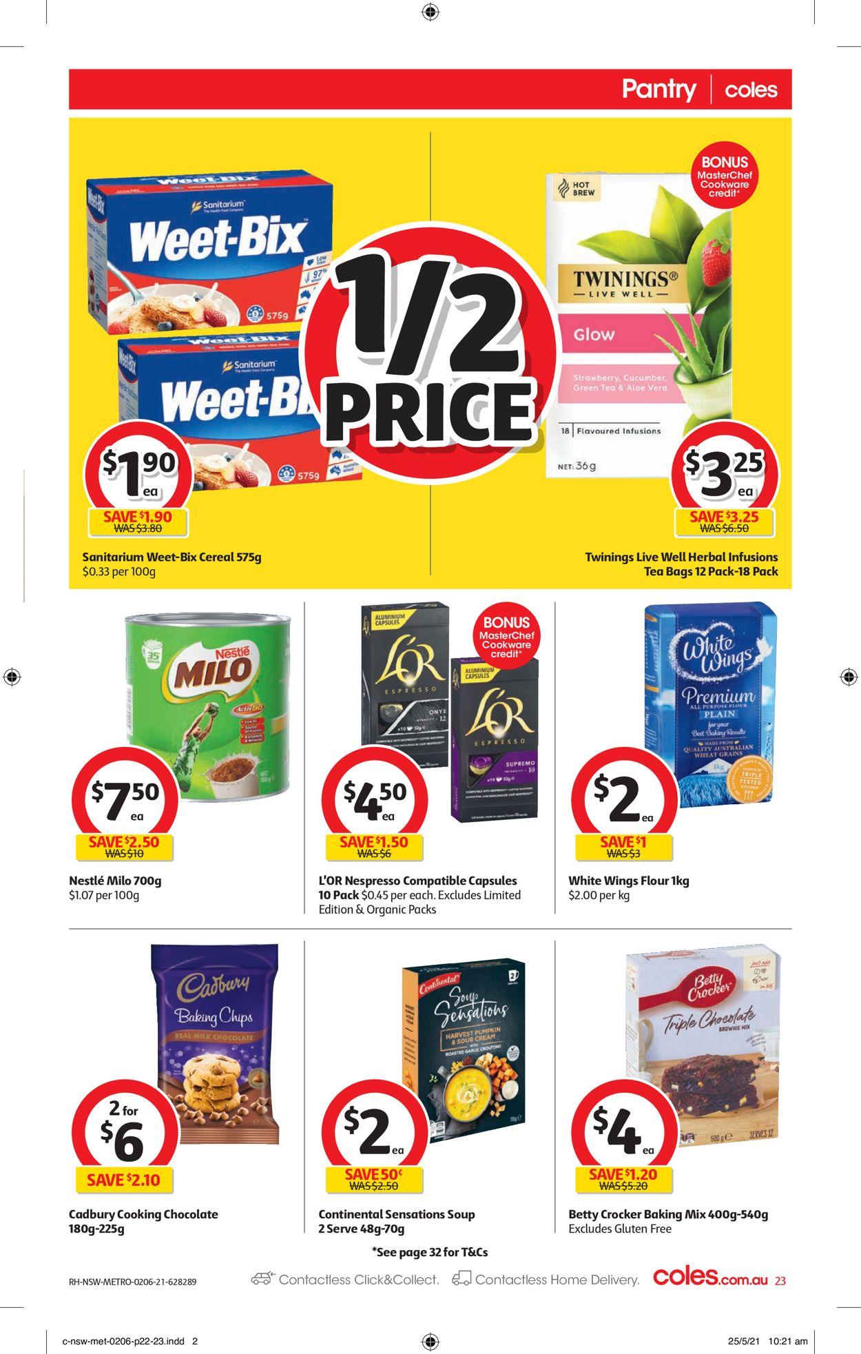 Coles Catalogue - 02/06-08/06/2021 (Page 23)