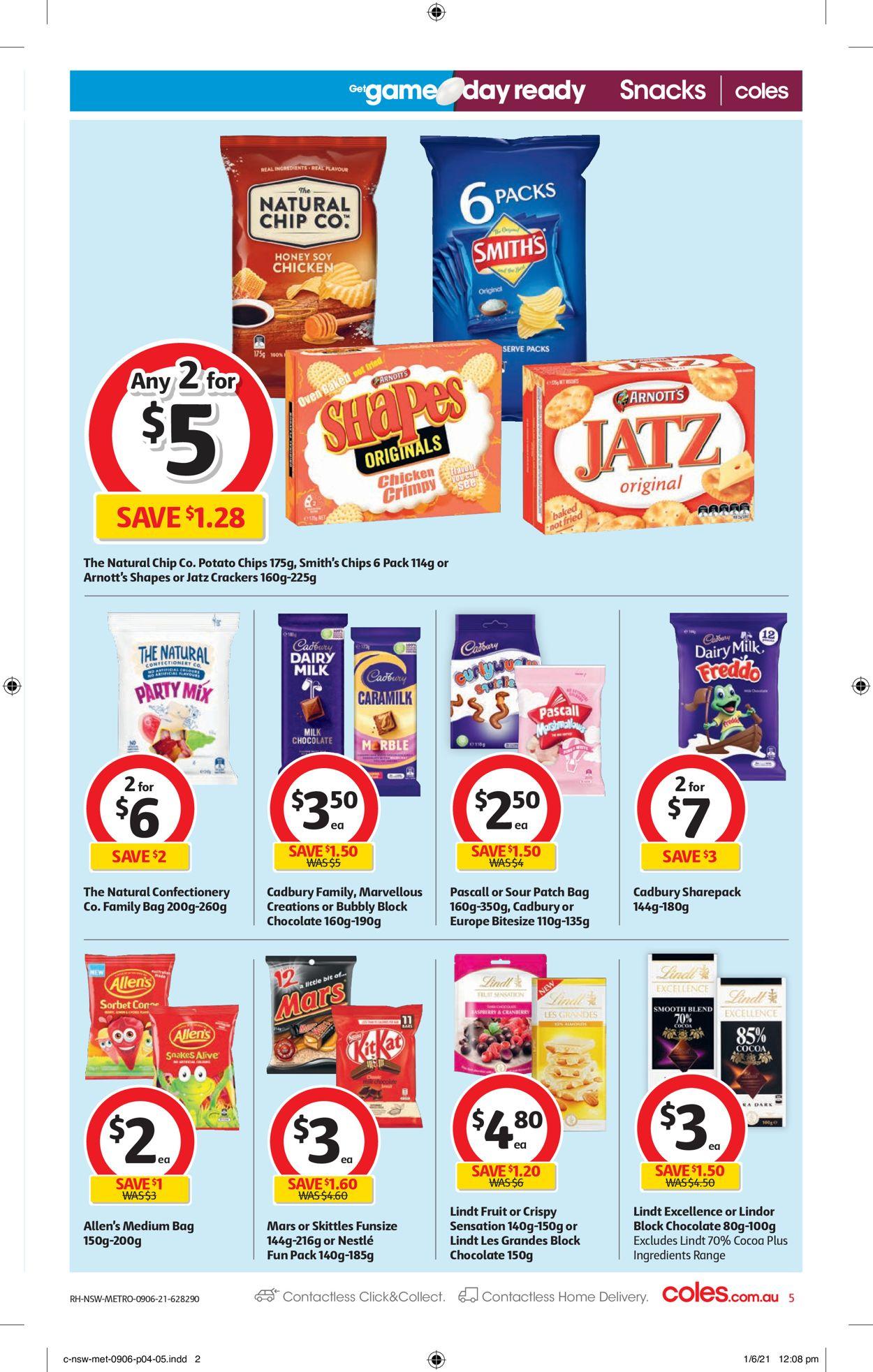 Coles Catalogue - 09/06-15/06/2021 (Page 5)