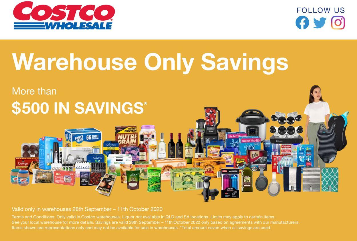 Costco Catalogue - 28/09-11/10/2020