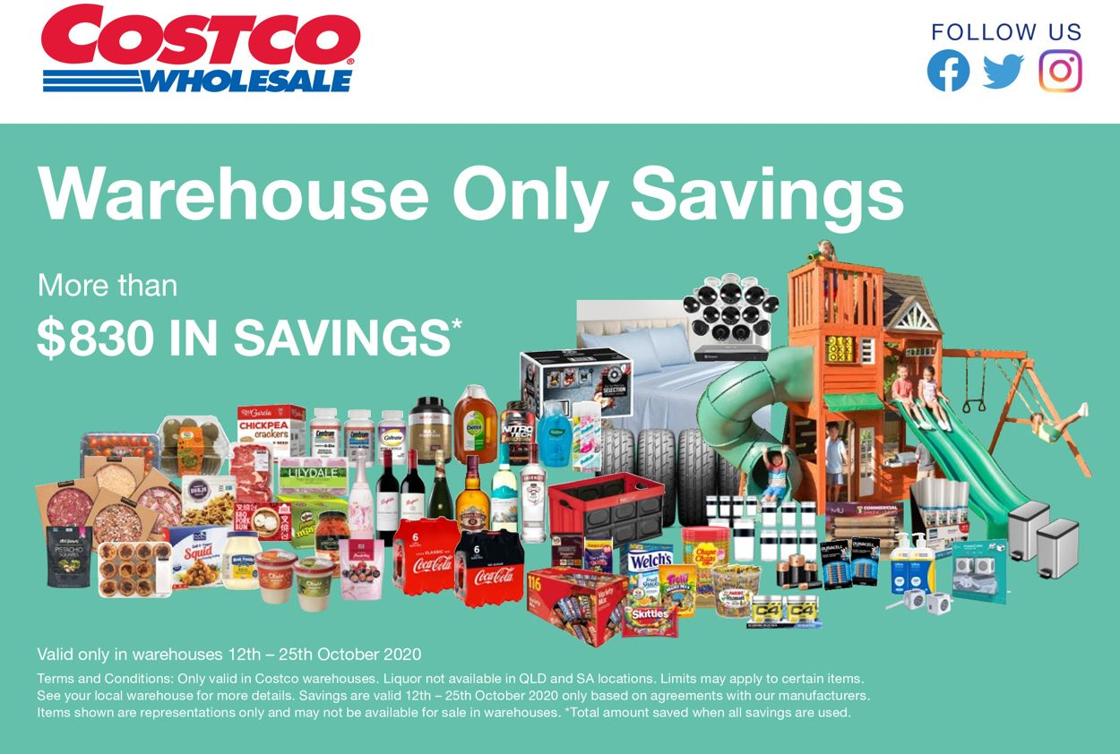 Costco Catalogue - 12/10-25/10/2020